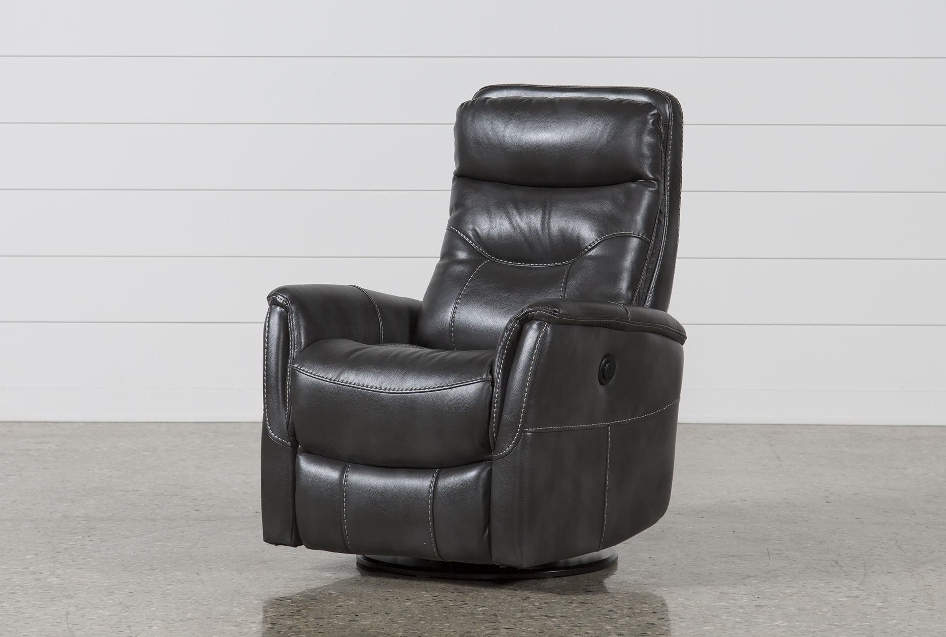 Popular Gannon Flint Power Swivel Glider Recliner W/built In Battery (View 19 of 20)