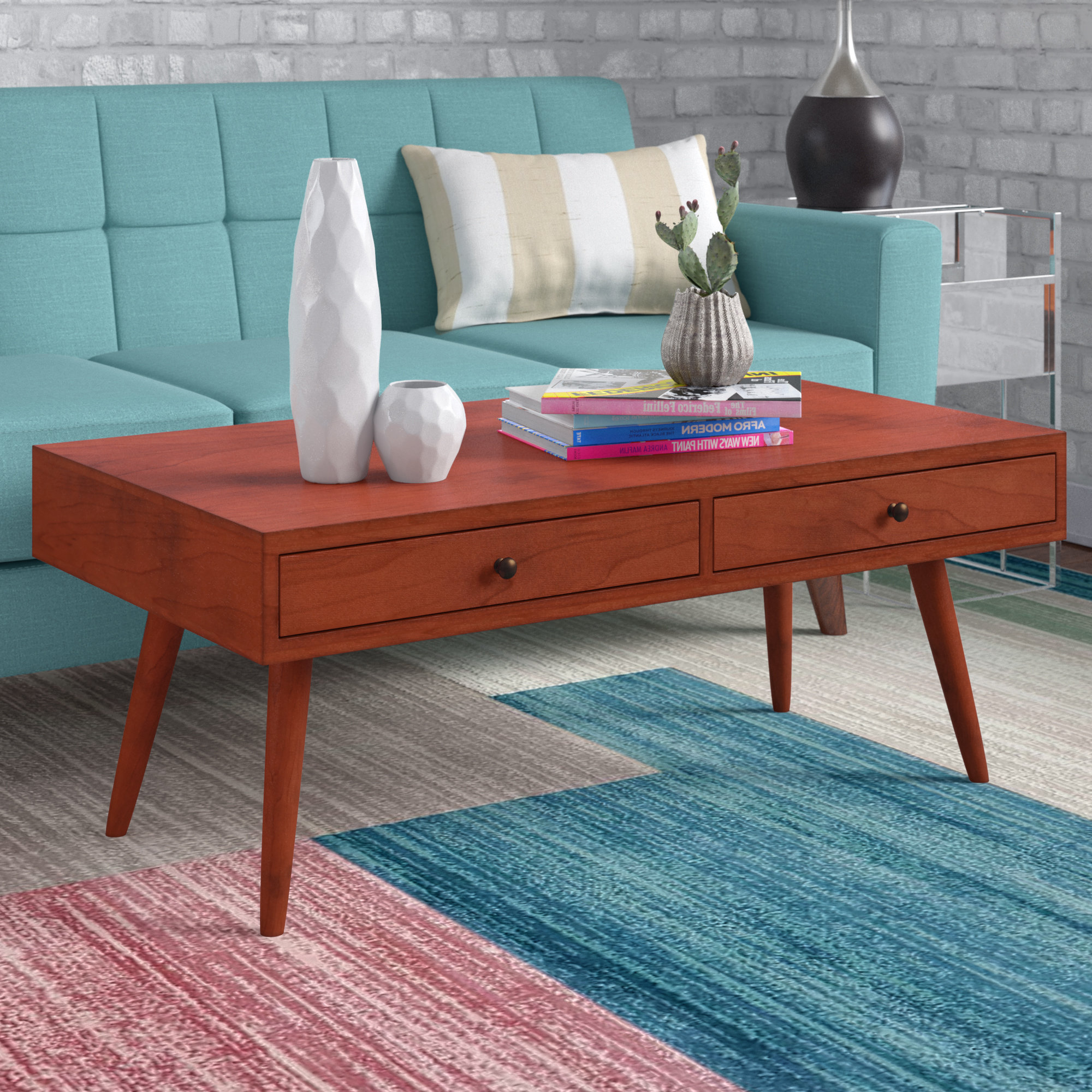 Popular Grant Lift Top Cocktail Tables With Casters In Langley Street Grant Modern Coffee Table With Storage & Reviews (Gallery 6 of 20)