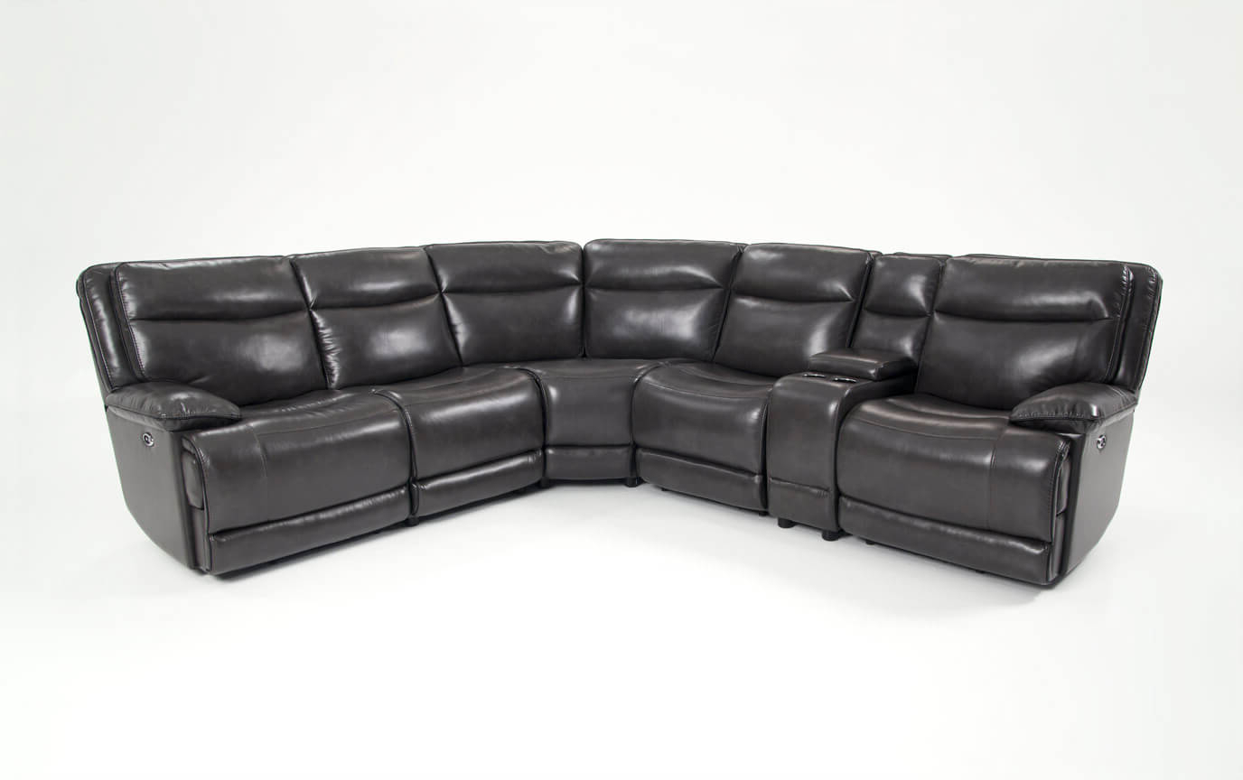 Popular Marcus Chocolate 6 Piece Sectionals With Power Headrest And Usb Within 6 Piece Sectional – Locsbyhelenelorasa (Gallery 7 of 20)
