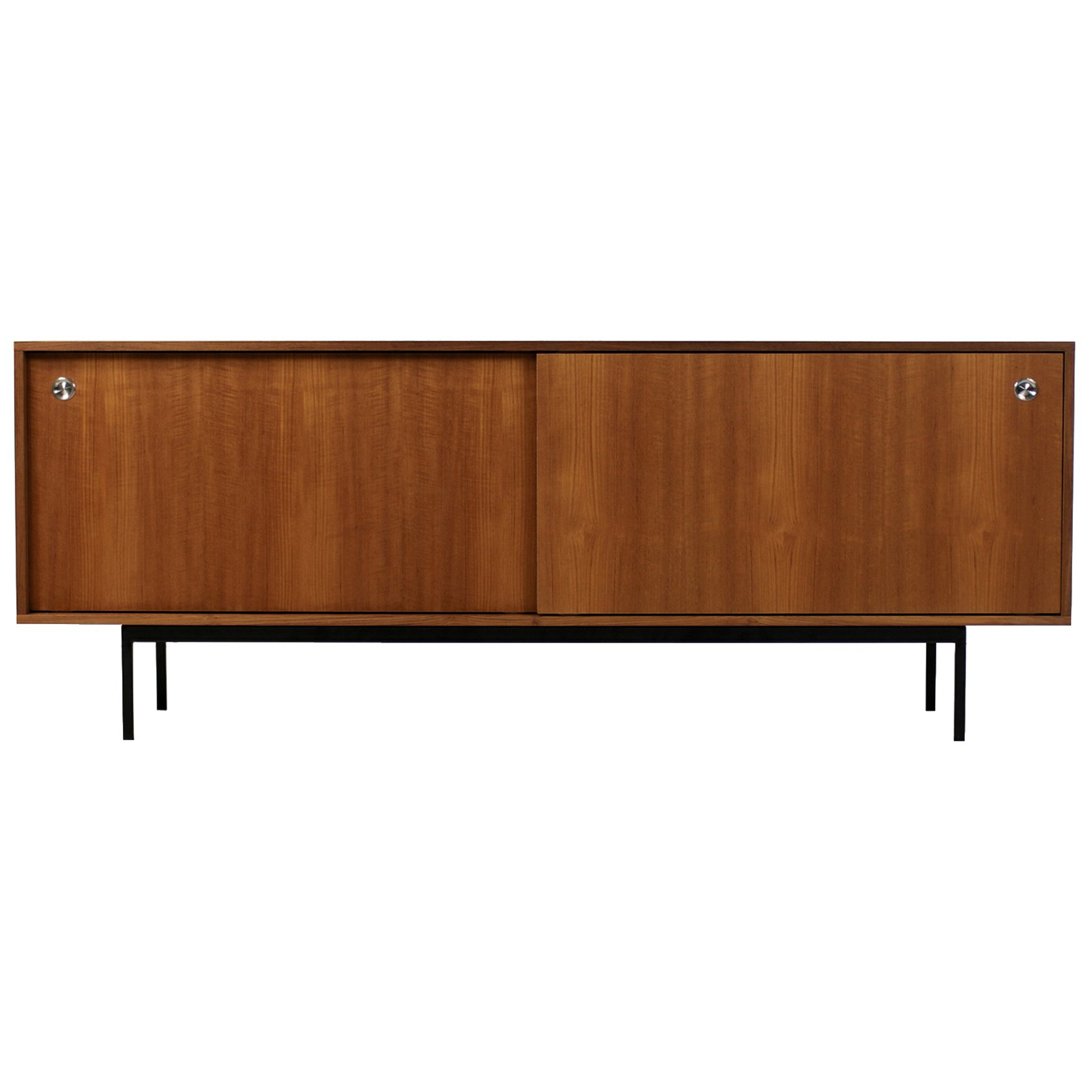 Popular Minimalist Teak Sideboardnathan Lindberg Design, Sliding Doors With Girard 4 Door Sideboards (Gallery 13 of 20)