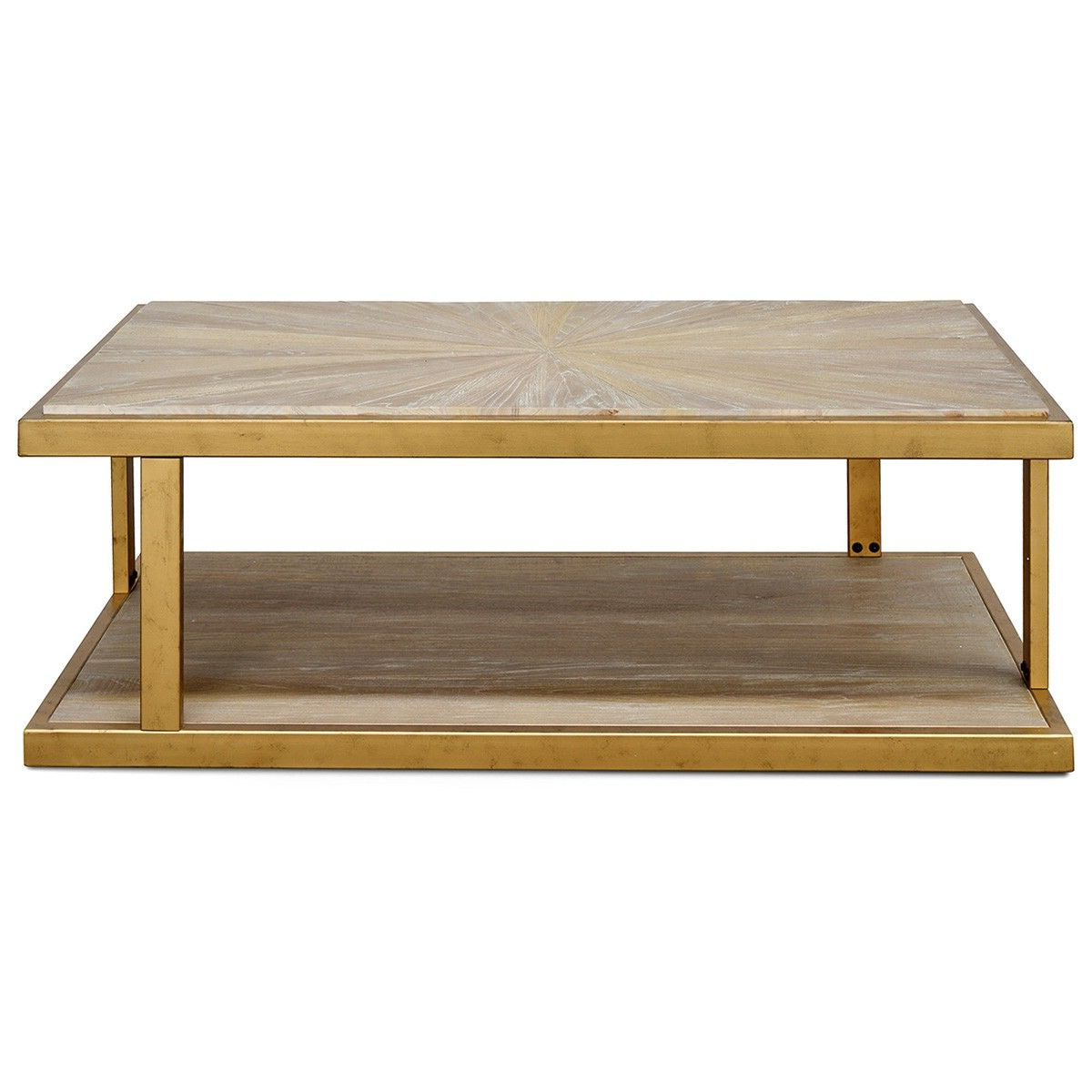 Popular Reclaimed Elm Iron Coffee Tables With Regard To Melina Reclaimed Elm Timber & Iron Coffee Table, 130cm (View 6 of 20)