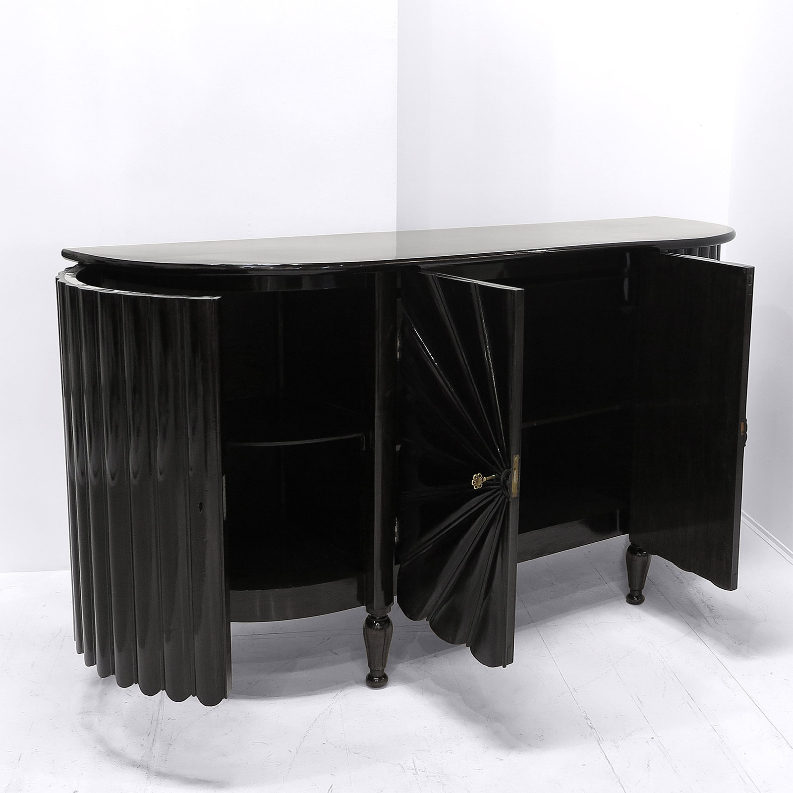 Popular Starburst 3 Door Sideboards Throughout Pair Of Italian 'starburst' Sideboards (View 9 of 20)