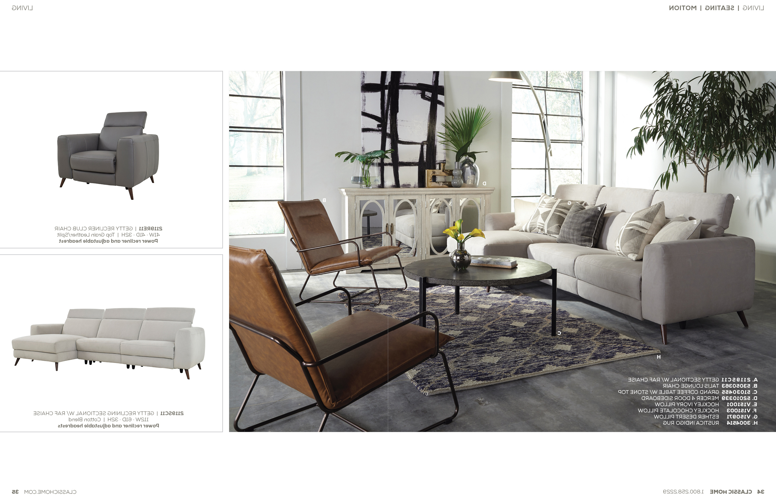 Popular V17 Catalog Pertaining To Cosmos Grey 2 Piece Sectionals With Raf Chaise (Gallery 16 of 20)
