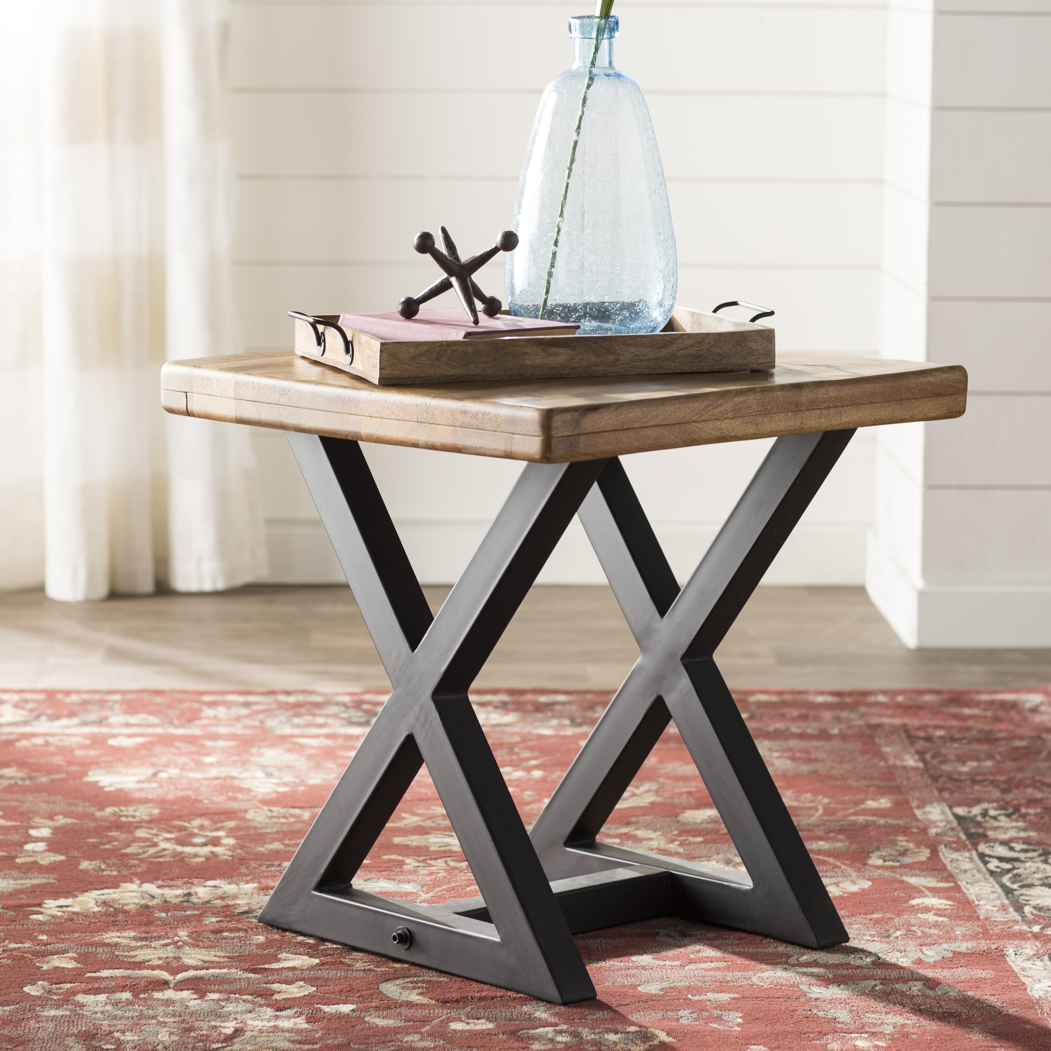Potomac Adjustable Coffee Tables Throughout Latest Laurel Foundry Modern Farmhouse Hilltop End Table & Reviews (View 13 of 20)