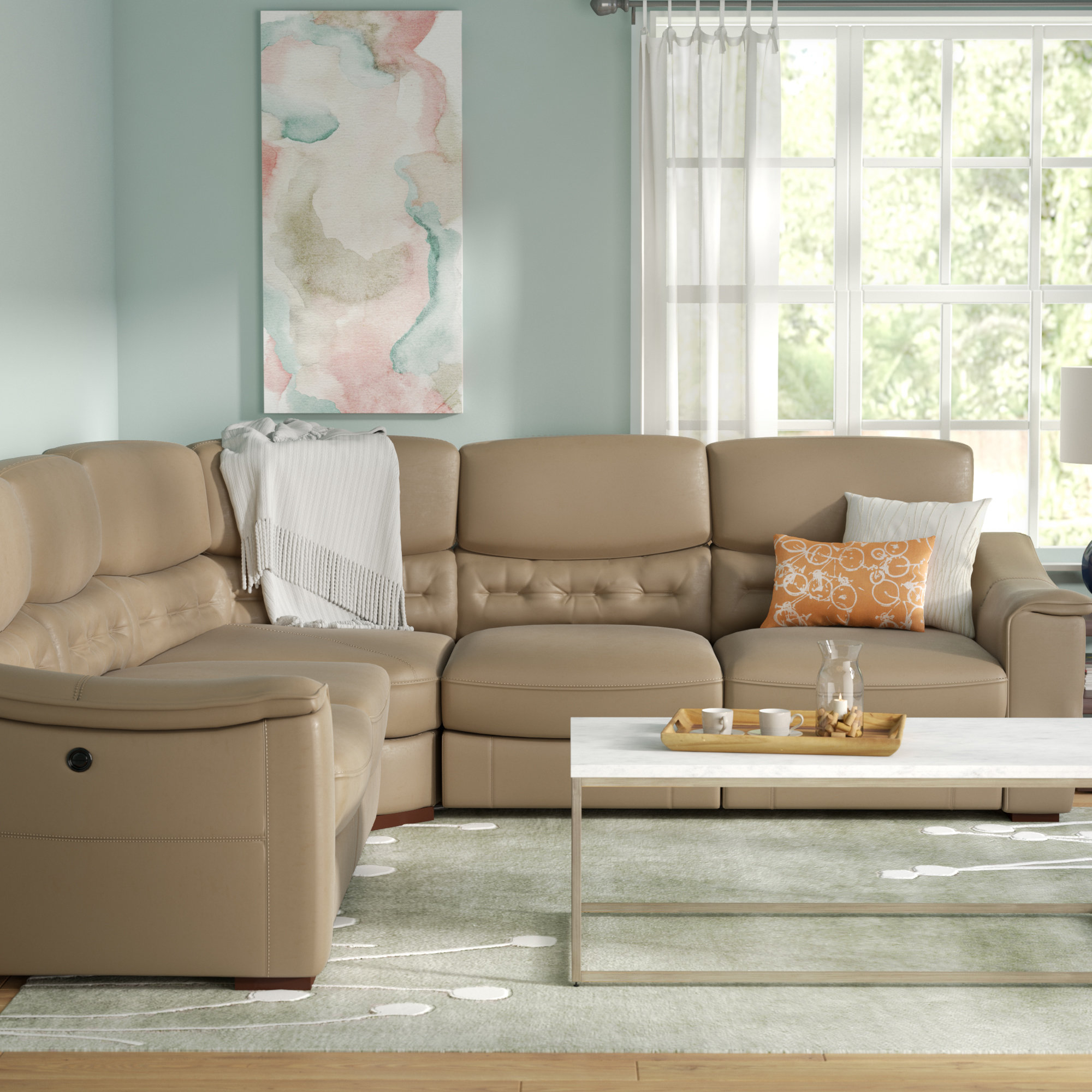 Power Reclining Sectionals You'll Love (View 12 of 20)