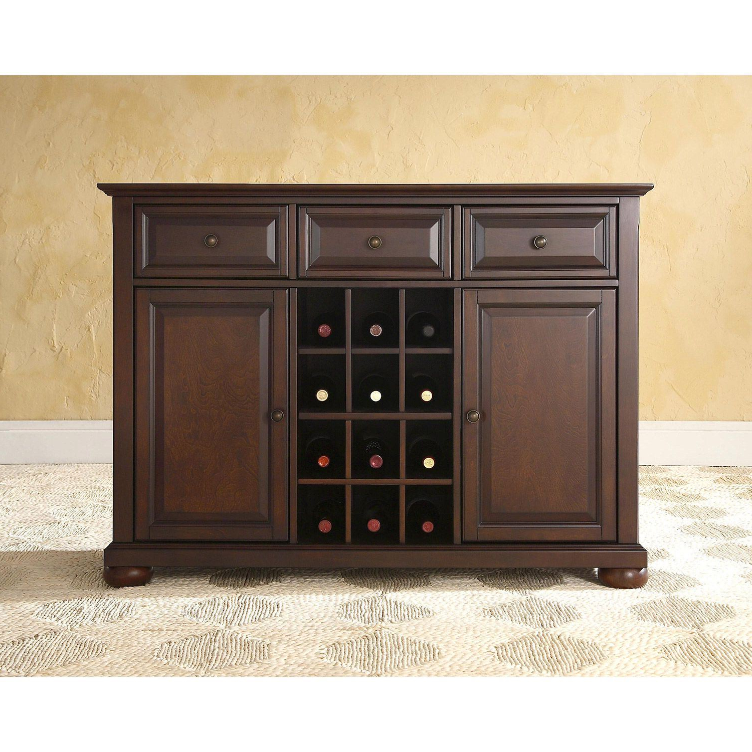 Preferred Amos Buffet Sideboards With Regard To Alexandria Buffet Server / Sideboard, Mahogany *d (View 13 of 20)