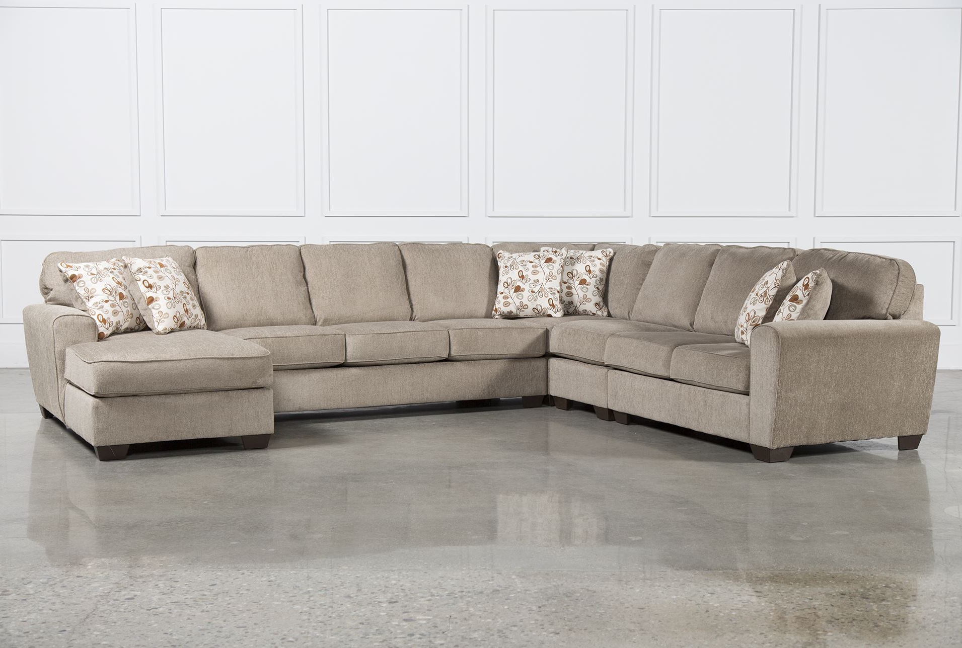 Preferred Best Ideas Of Raf Chaise In Patola Park 5 Piece Sectional W Raf With Regard To Meyer 3 Piece Sectionals With Raf Chaise (View 11 of 20)