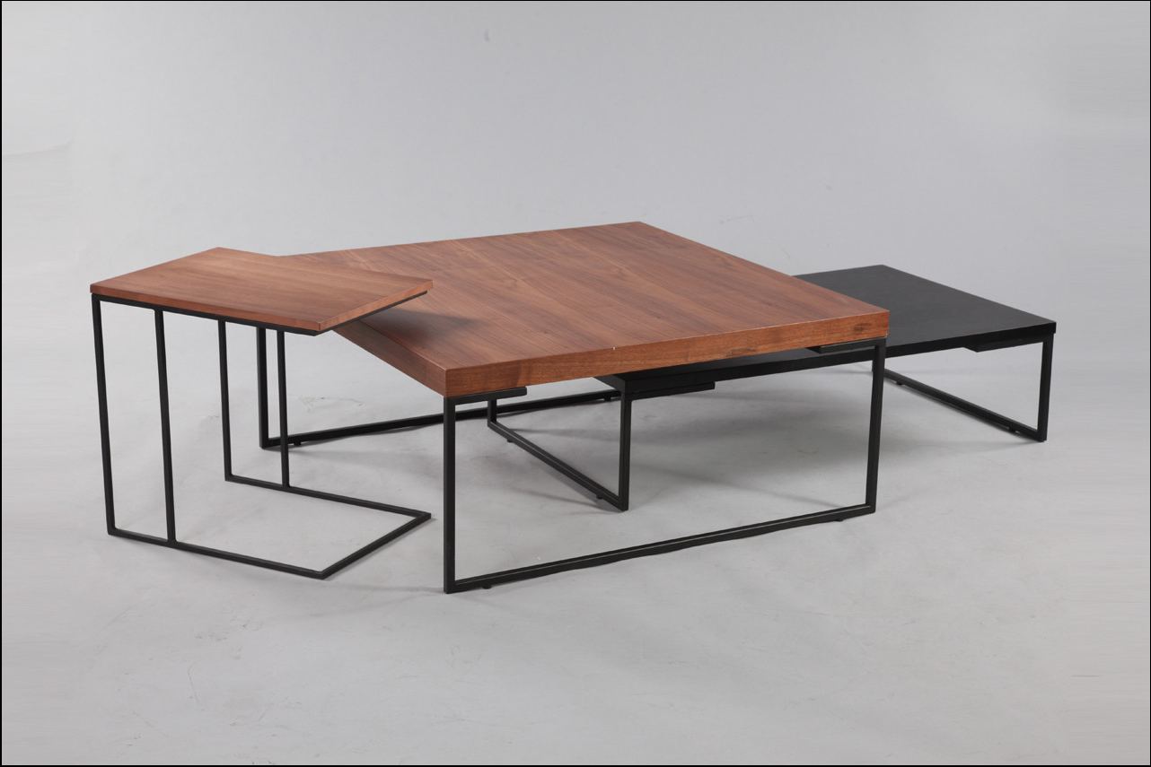 Preferred Best Series Of Three Gio Modular Coffee Tables Circa 1950 Italy With Regarding Modular Coffee Tables (Gallery 16 of 20)
