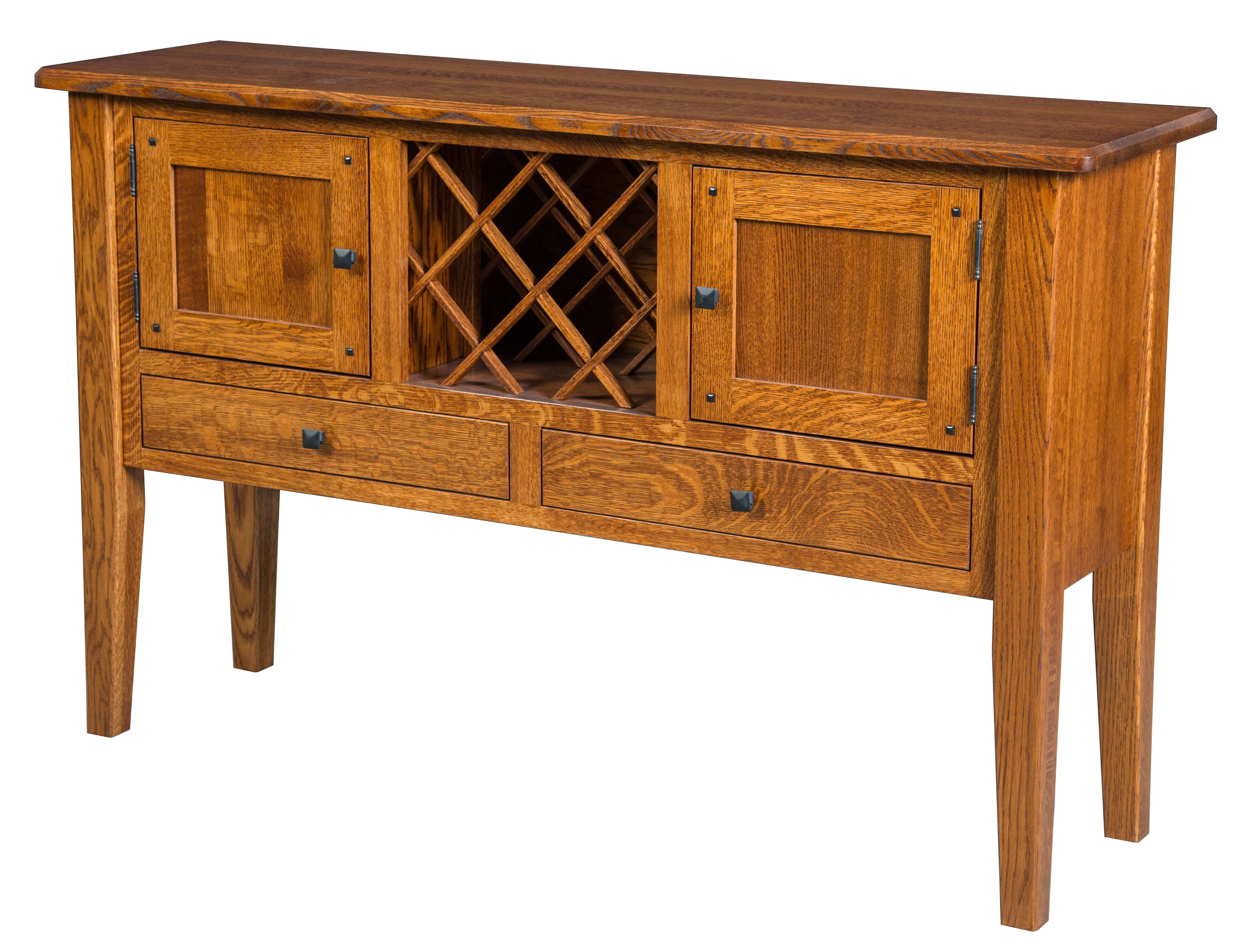 Preferred Black Burnt Oak Sideboards In Conner Sideboard – Amish Crafted Furniture (Gallery 20 of 20)