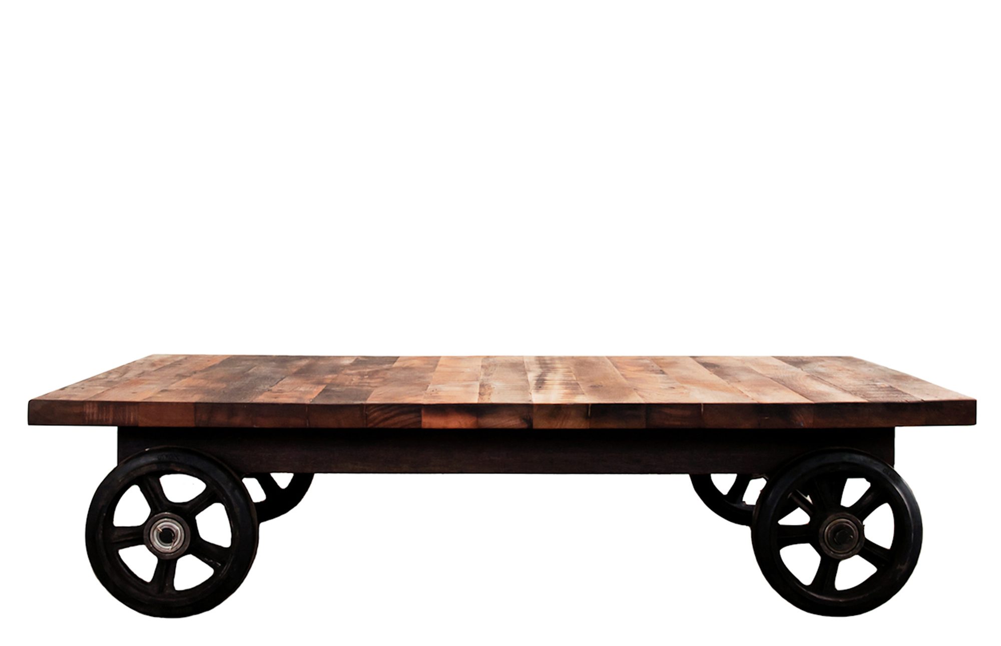 Preferred Coffee Table With Wheels – Lounge Furniture – Out & Out Original Pertaining To Iron Wood Coffee Tables With Wheels (View 9 of 20)