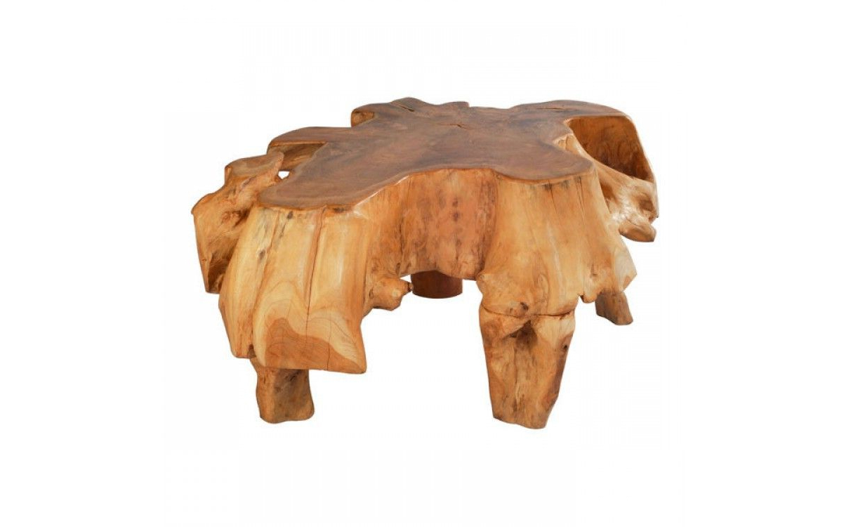 Preferred Design Chic – Broll Teak Coffee Table, $ (View 16 of 20)