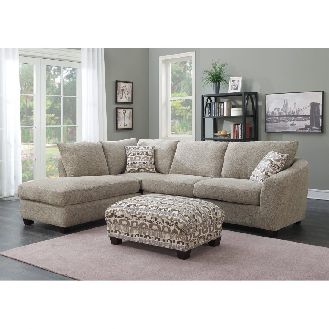 Preferred Emerald Home Focus 2 Piece Sectional Sofa With Chaise Curved Throughout Evan 2 Piece Sectionals With Raf Chaise (View 16 of 20)
