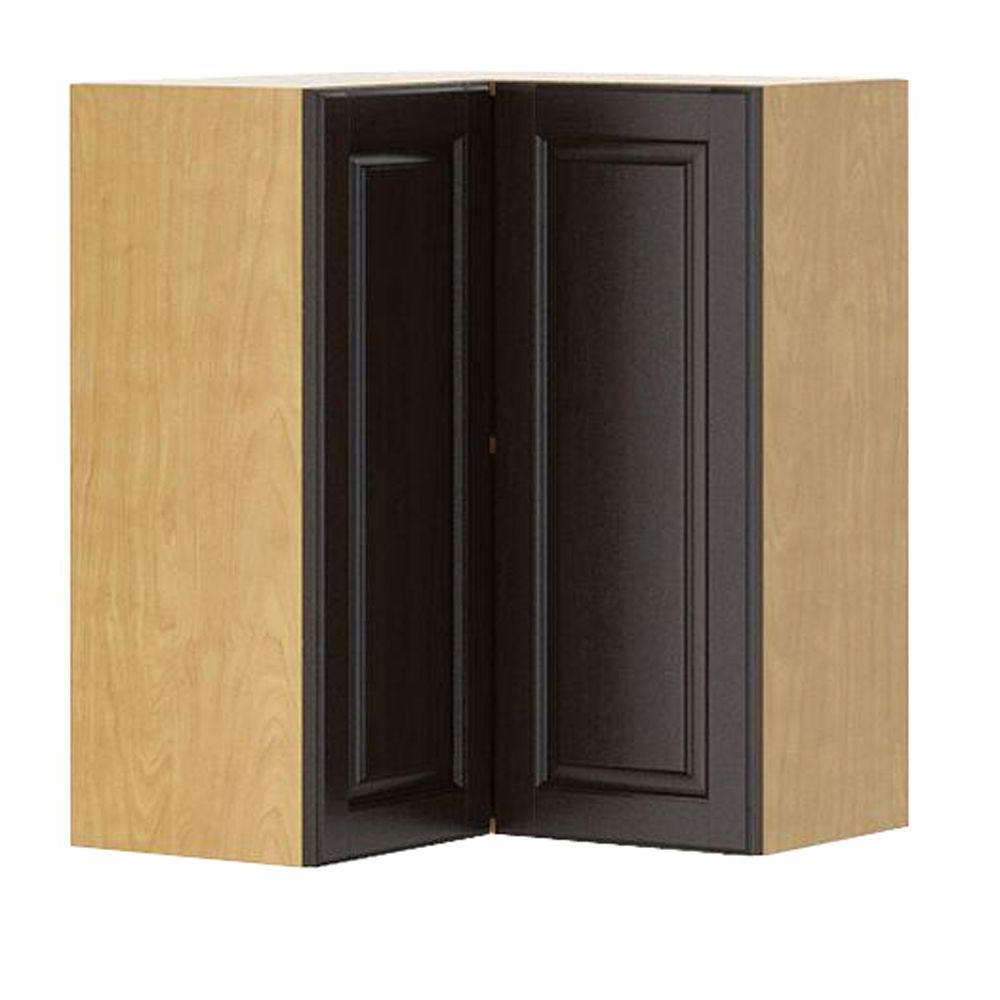 Preferred Eurostyle Ready To Assemble 24X30X24 In. Naples Corner Wall Cabinet Regarding Corrugated Natural 6 Door Sideboards (Gallery 18 of 20)