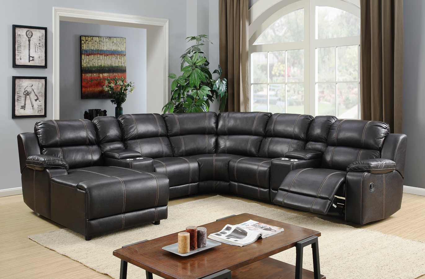 Preferred Jackson 6 Piece Power Reclining Sectionals Inside Jackson Reclining Sectional (View 12 of 20)