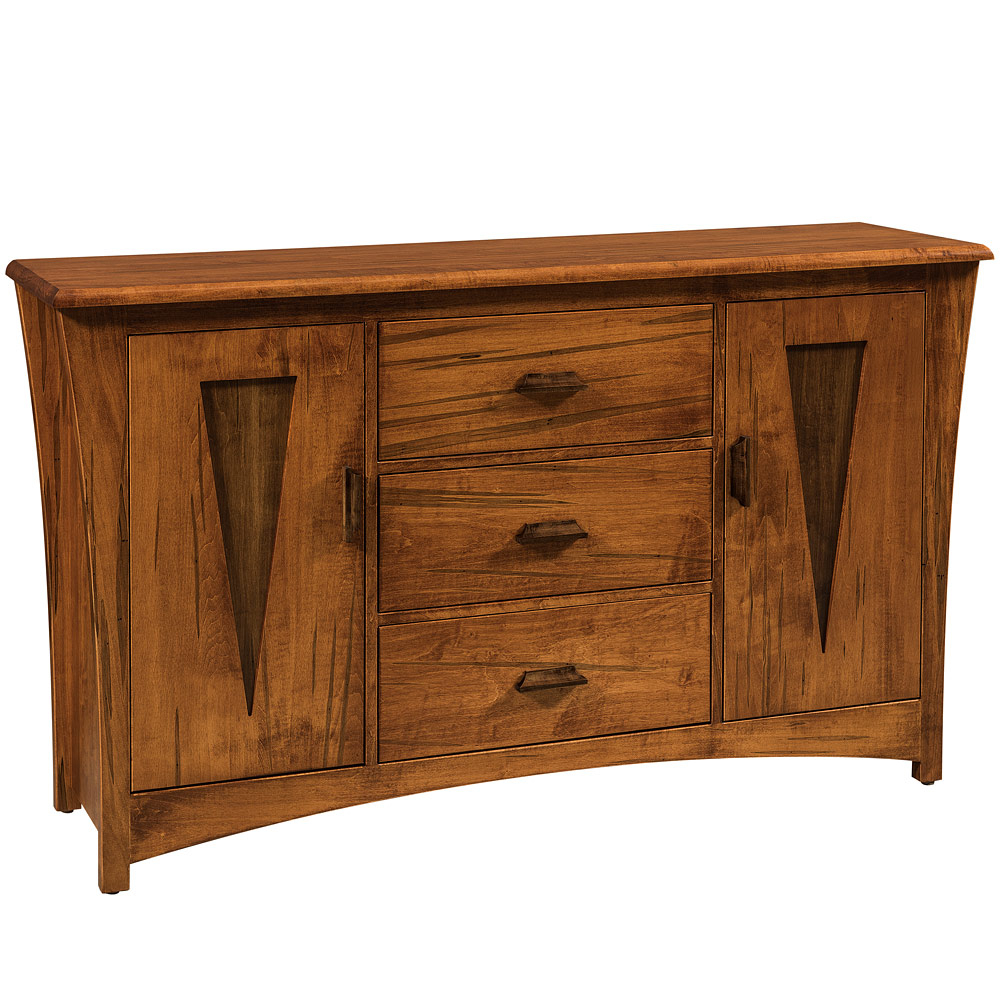 Preferred Lockwood Sideboards For Delphi Amish Sideboard – Amish Dining Room Furniture (Gallery 1 of 20)