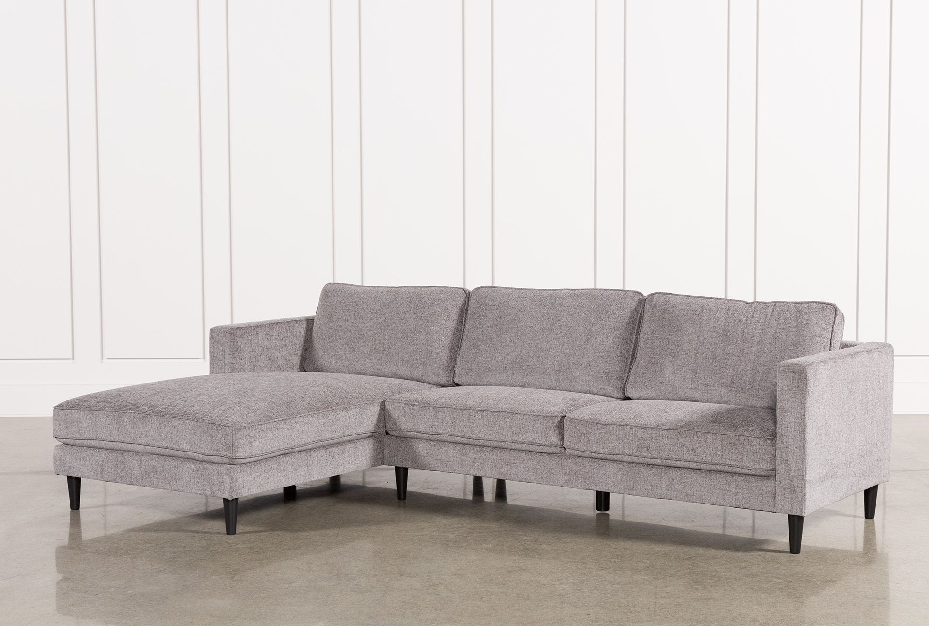 Preferred Lucy Grey 2 Piece Sectionals With Raf Chaise Regarding Cosmos Grey 2 Piece Sectional W/raf Chaise In (View 20 of 20)
