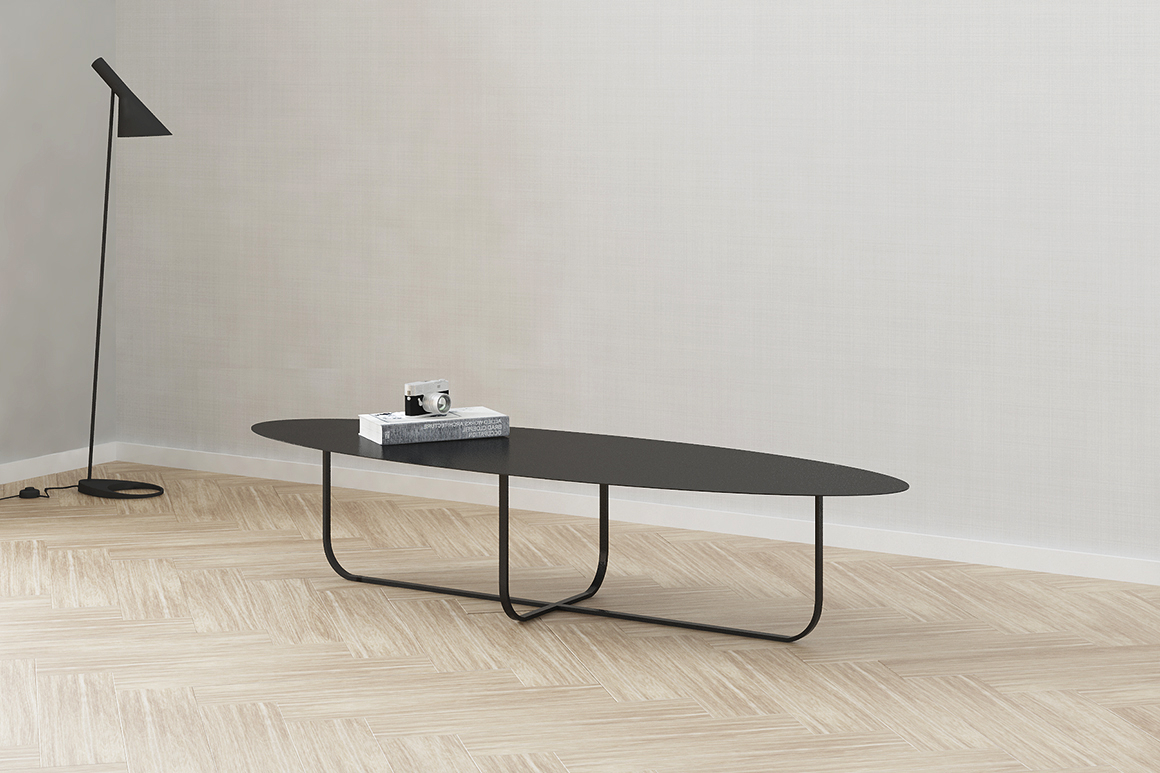 Preferred Minimalist Coffee Tables With Studio Martell – Minimalist Coffee Table Curva (View 8 of 20)