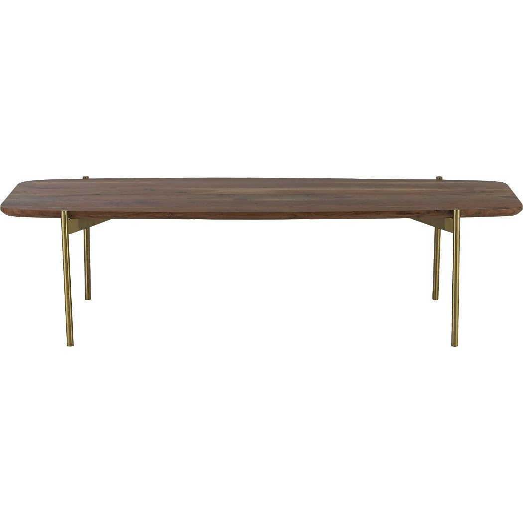 Preferred Shop Adam Coffee Table. A Nod To Midcentury Mod. Sleek Span Of Solid In Alcide Rectangular Marble Coffee Tables (Gallery 4 of 20)