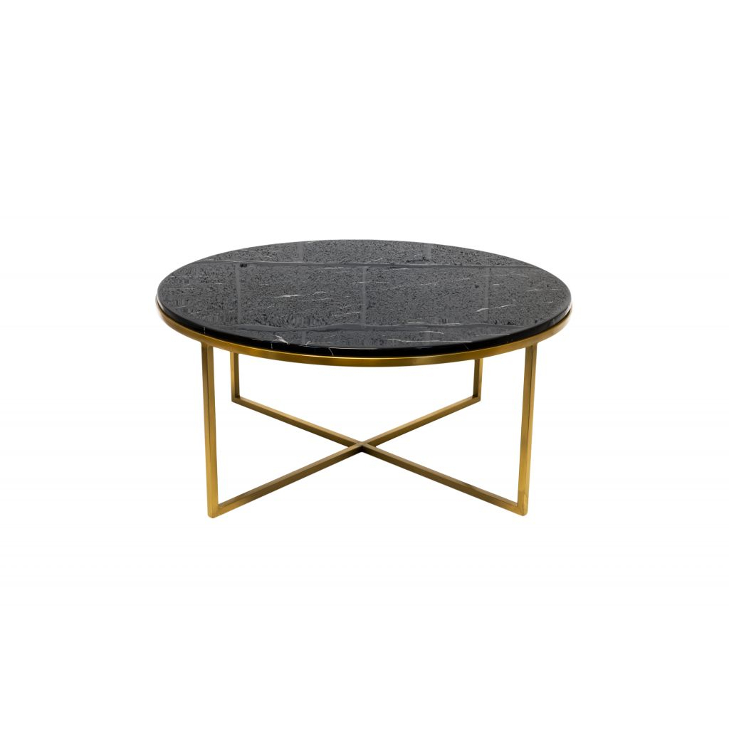 Preferred Valentina Marble And Brass Coffee Table – Quality – In Jelly Bean Coffee Tables (View 8 of 20)
