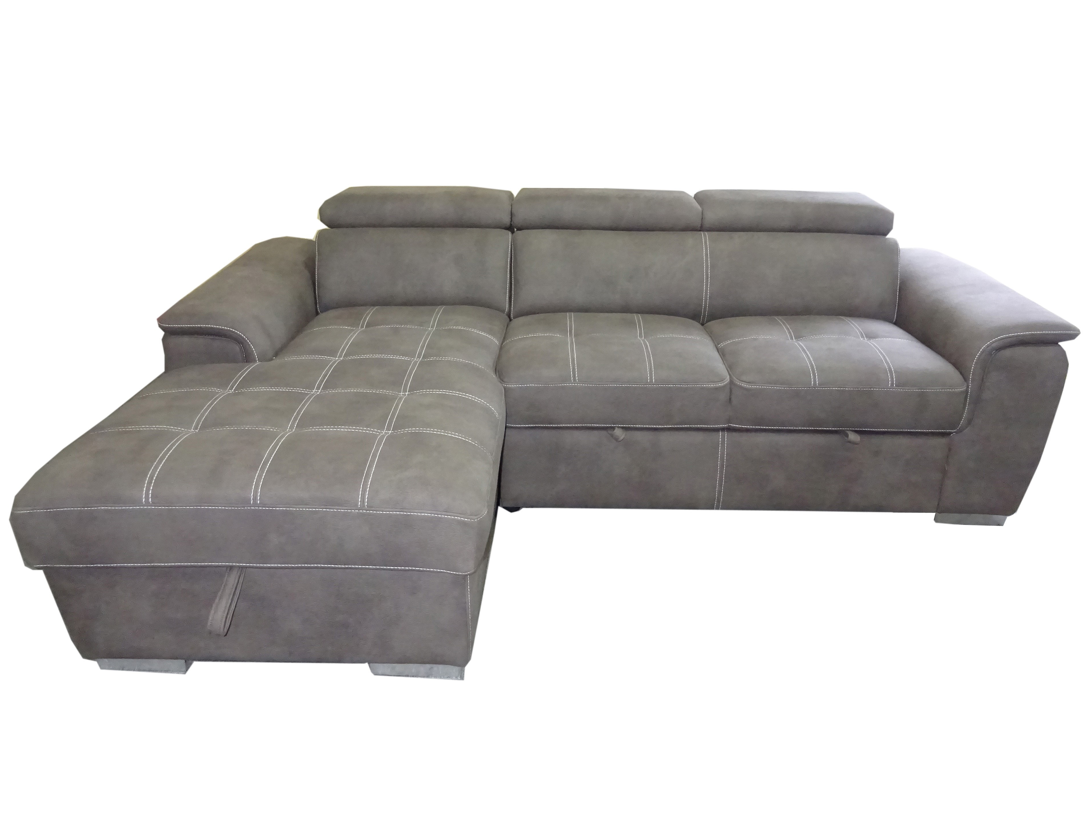 Primo Lucca 2 Piece Sectional Sofa Bed (View 15 of 20)