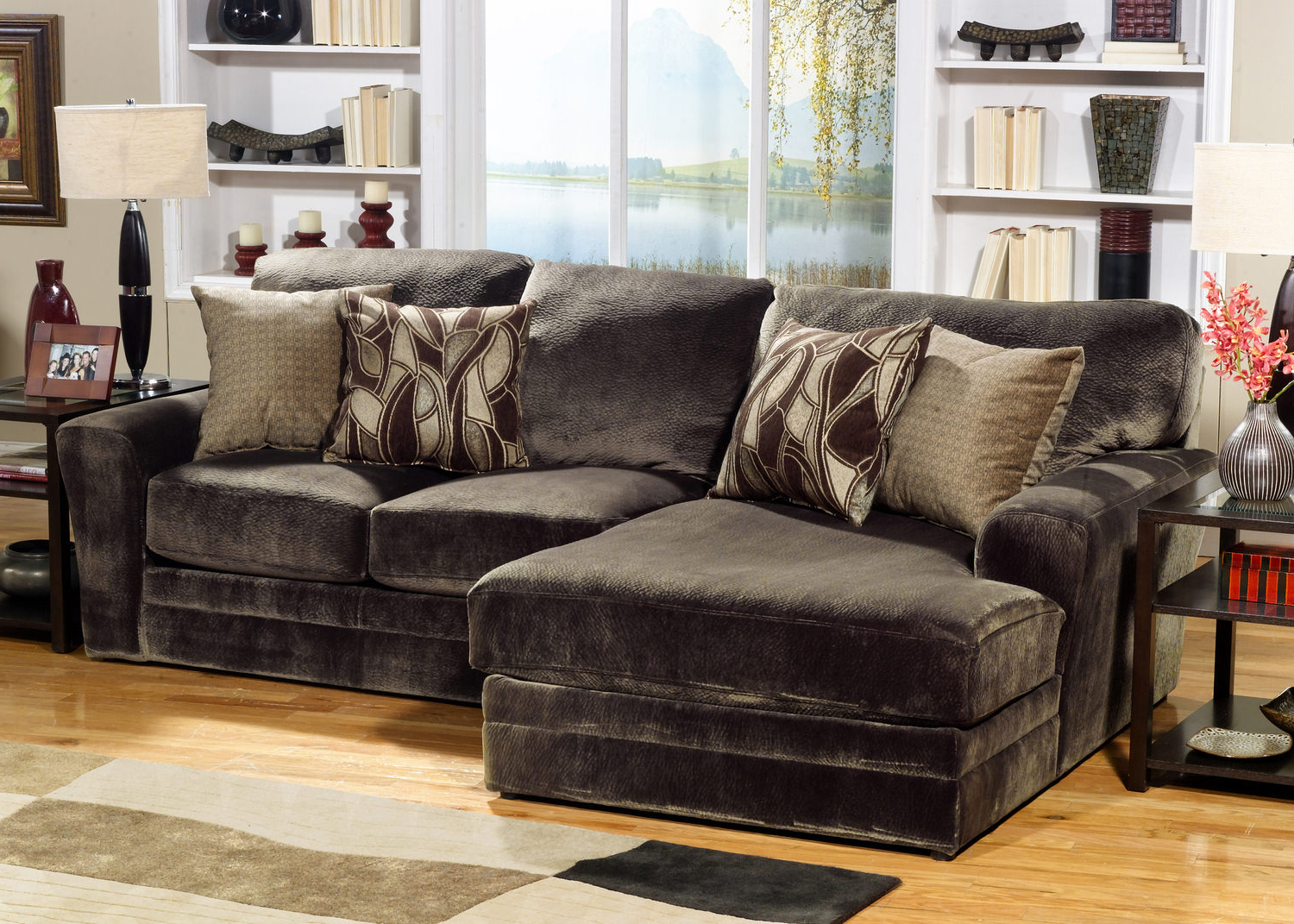 Rainier 2 Piece Modular Sectional (View 17 of 20)