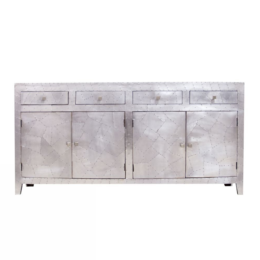 Rani 4 Door Sideboards With Regard To Widely Used Aviation Sideboard – 4 Door 4 Drawer (Gallery 8 of 20)