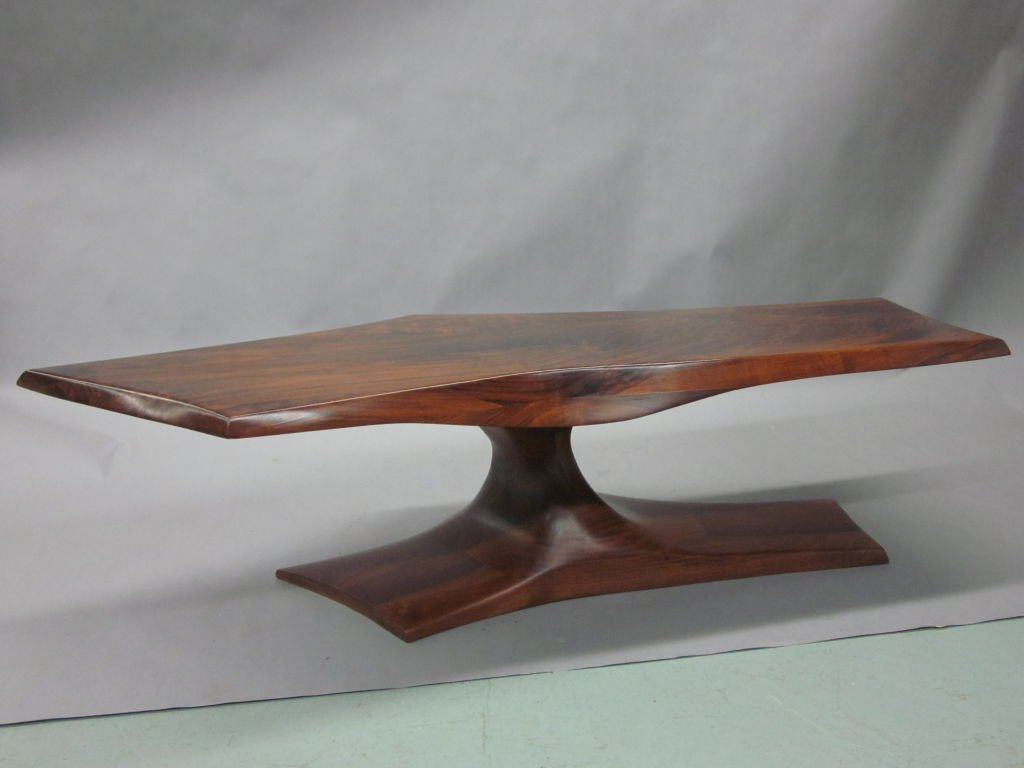 Rare 'modern Craftsman' Cocktail Tablej. Muckey At 1Stdibs Intended For Preferred Craftsman Cocktail Tables (Gallery 17 of 20)