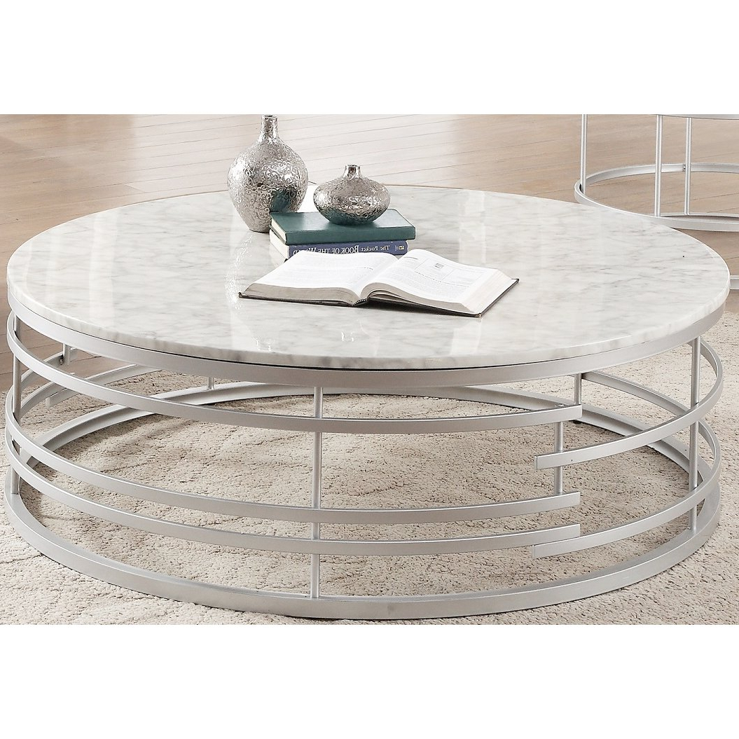 Rc Willey Throughout 2018 Smart Large Round Marble Top Coffee Tables (View 17 of 20)