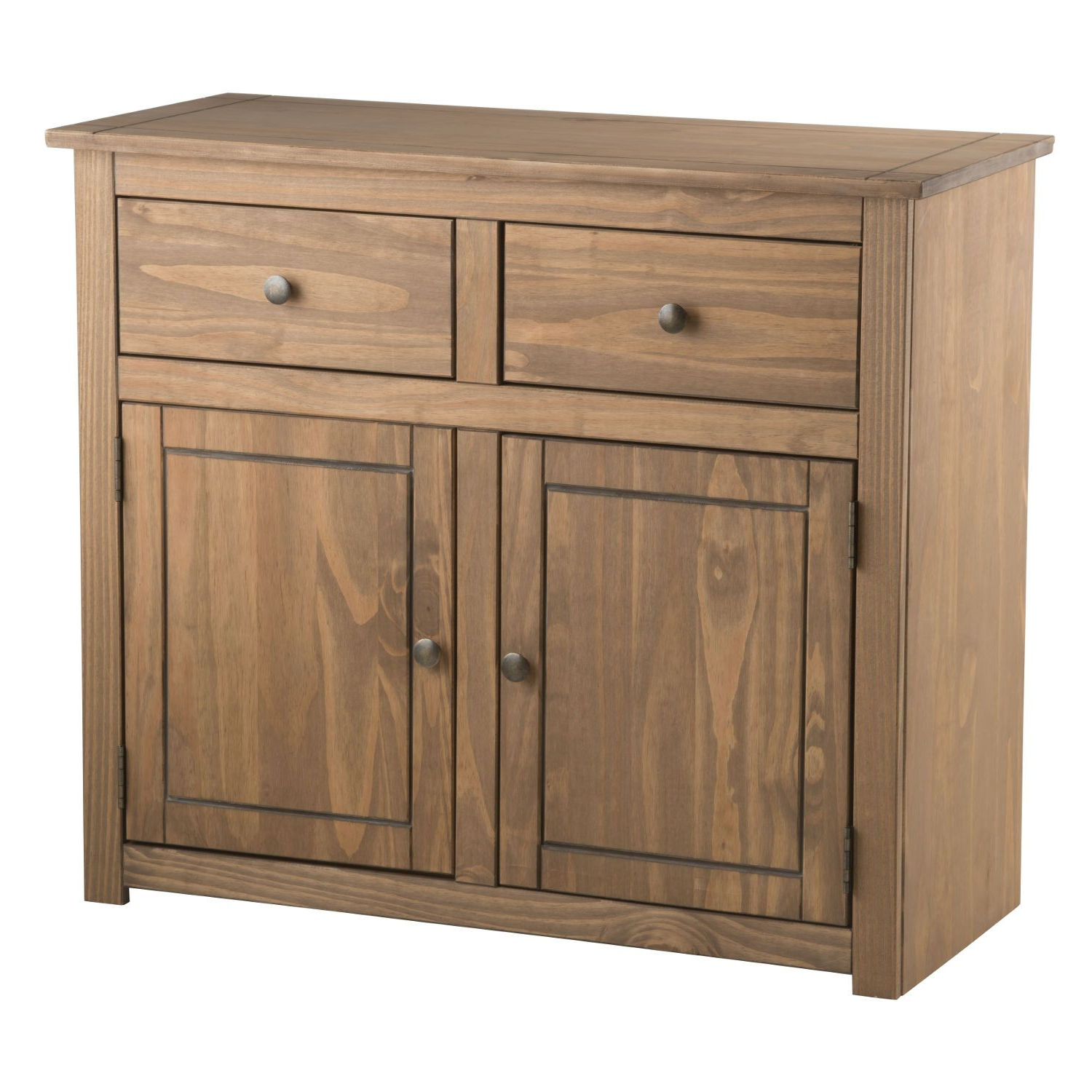 Recent 2 Drawer Sideboards Regarding Santiago 2 Door 2 Drawer Sideboard – Next Day Delivery Santiago (View 17 of 20)