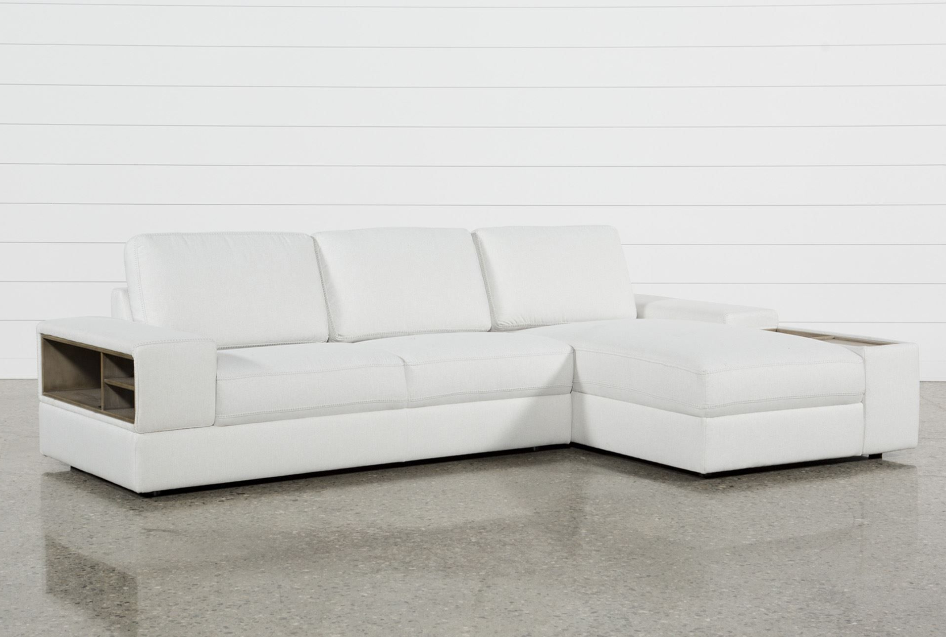 Recent Arrowmask 2 Piece Sectionals With Sleeper & Left Facing Chaise In Larimar Stone 2 Piece Sectional W/laf Chaise & Usb, Grey, Sofas (Gallery 11 of 20)