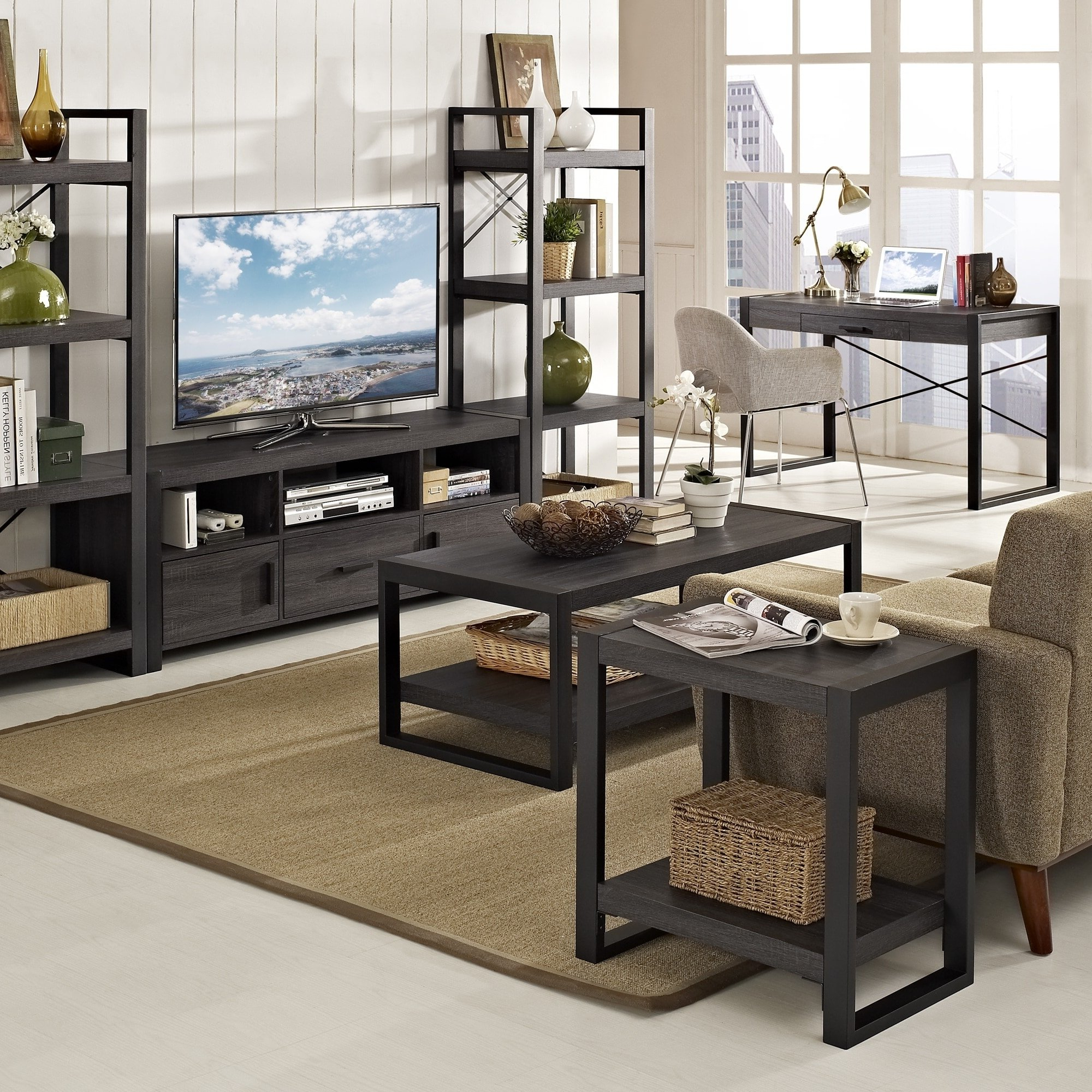 "Recent Chevron 48"" Coffee Tables Within Shop Angelo:home 48"" Coffee Table – 48 X 24 X 18H – On Sale – Free (Gallery 5 of 19)"