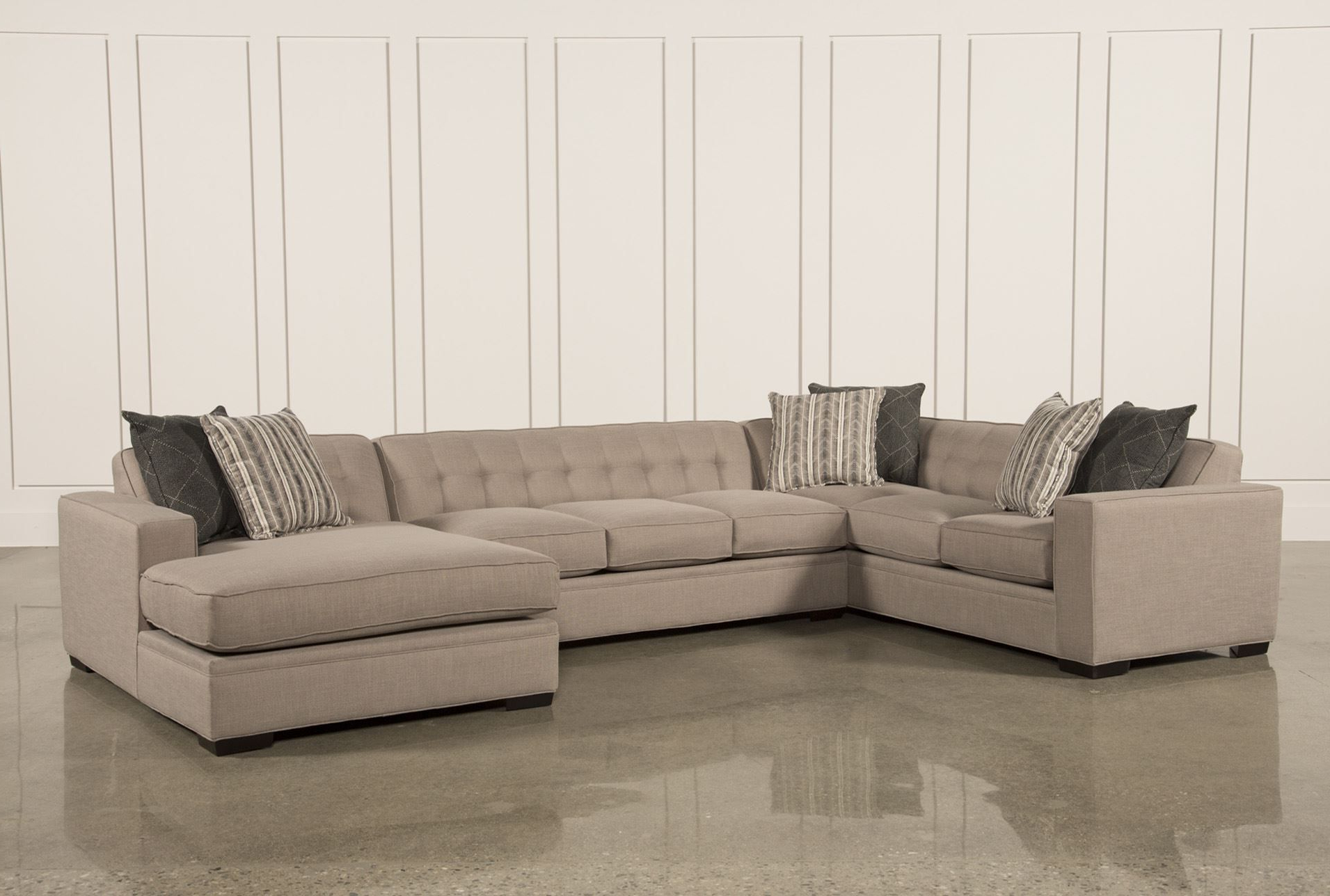 Recent Corbin 3 Piece Sectional W/raf Chaise (Gallery 3 of 20)