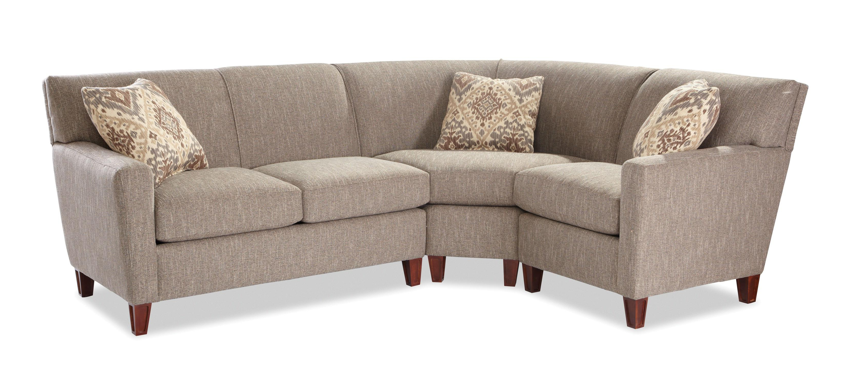 Recent Craftmaster 7864 Three Piece Sectional Sofa With Raf Loveseat For Josephine 2 Piece Sectionals With Laf Sofa (View 16 of 20)