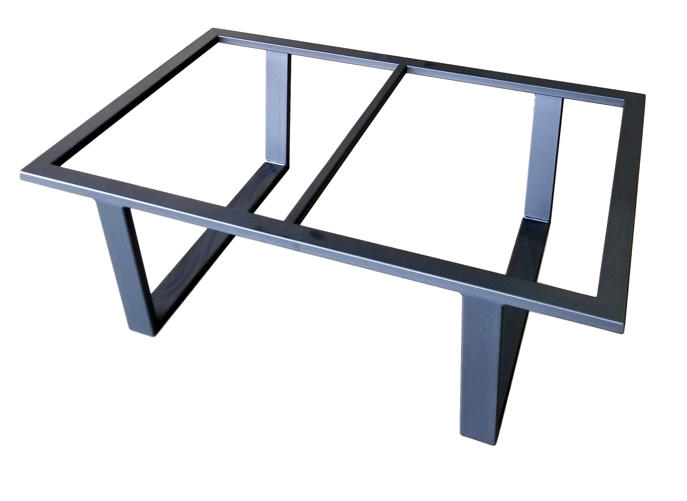Recent Cuff Hammered Gold Coffee Tables For Custom Made Coffee Table Base (Henry)Urban Ironcraft (View 17 of 20)