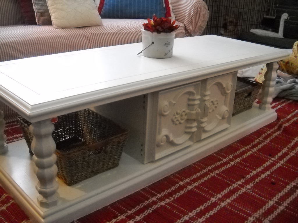 Recent Finally: My Coffee Table Redo! Pertaining To Jelly Bean Coffee Tables (Gallery 11 of 20)