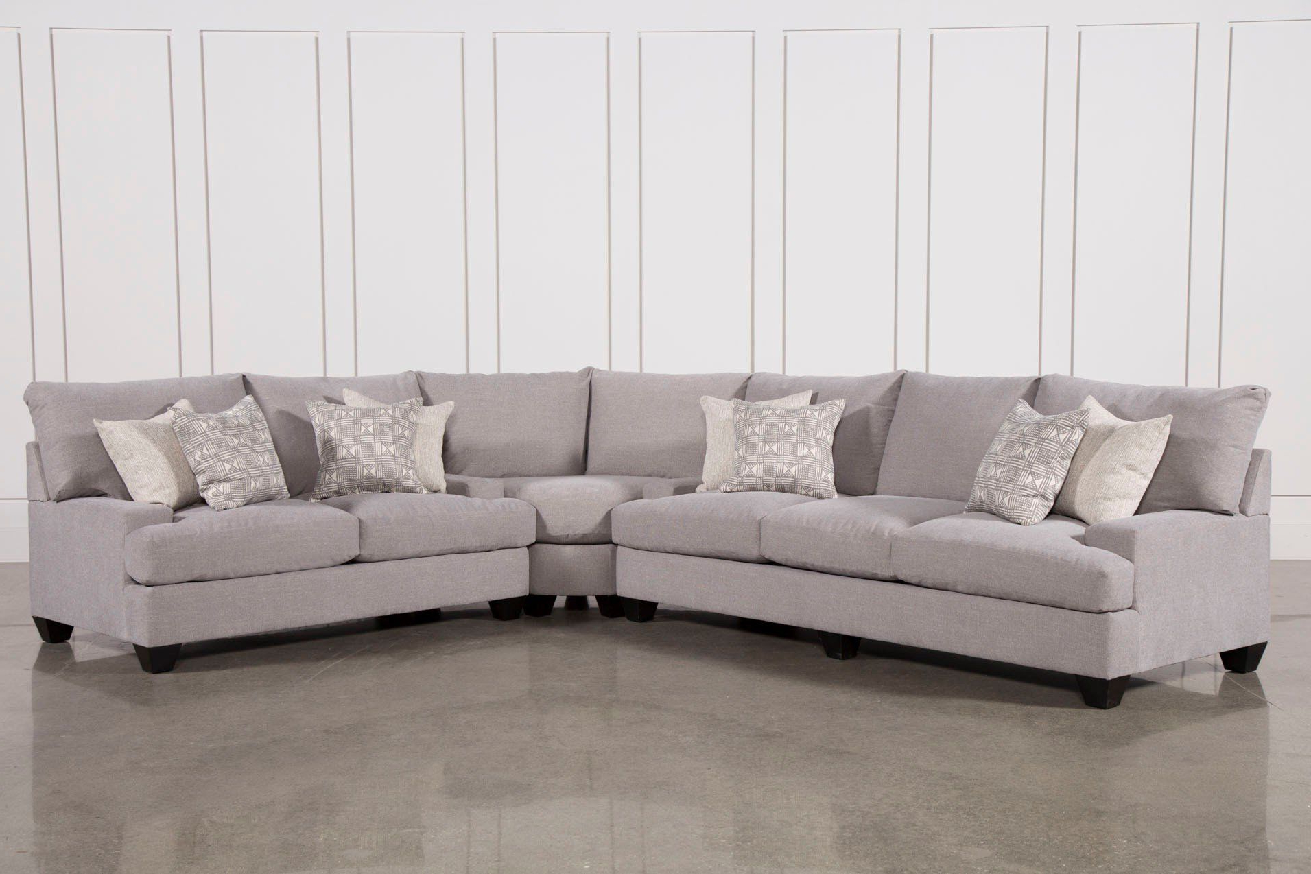 Recent Harper Down 3 Piece Sectional (Gallery 4 of 20)