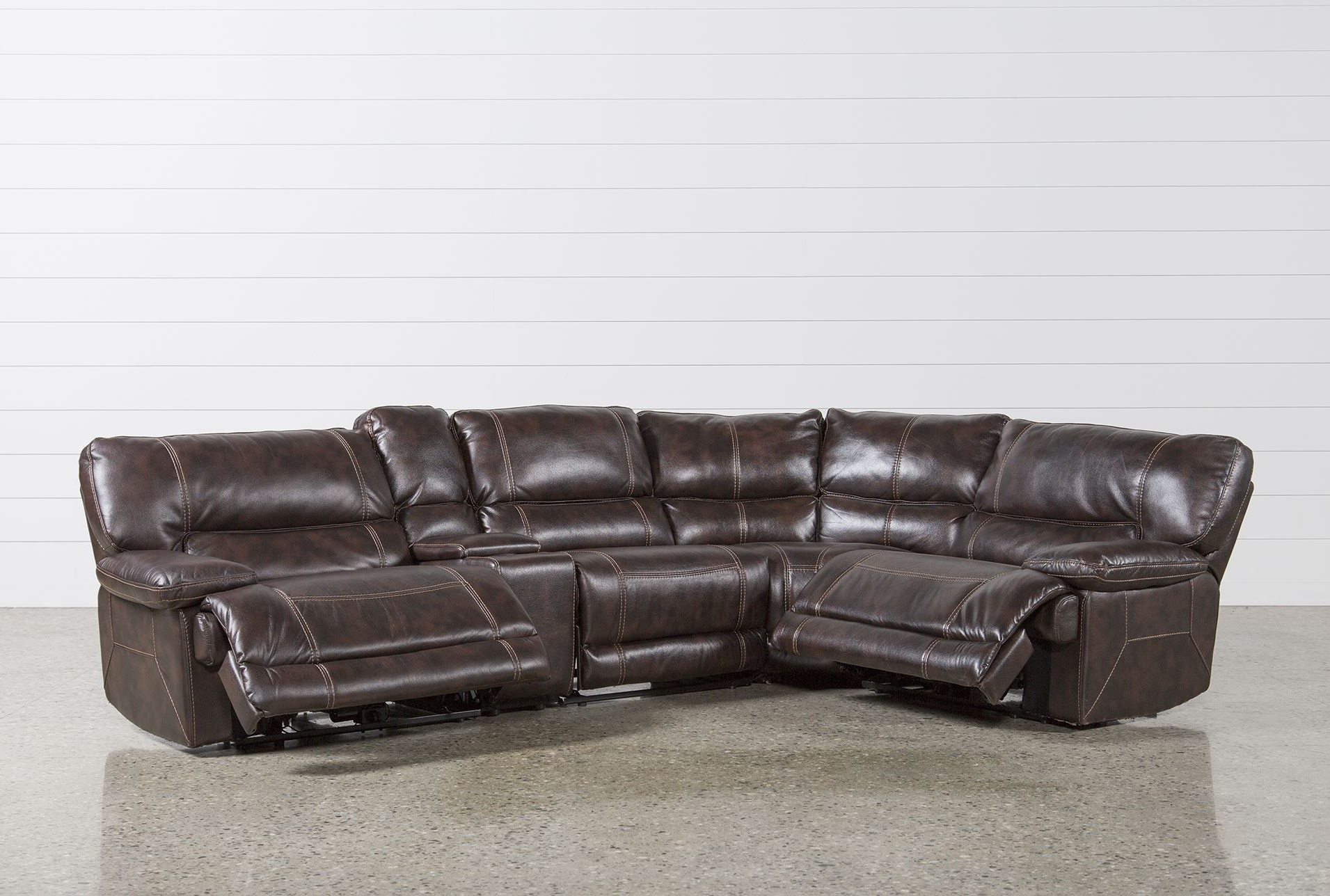 Recent Living Spaces Sectional – Tidex With Regard To Harper Foam 3 Piece Sectionals With Raf Chaise (Gallery 17 of 20)