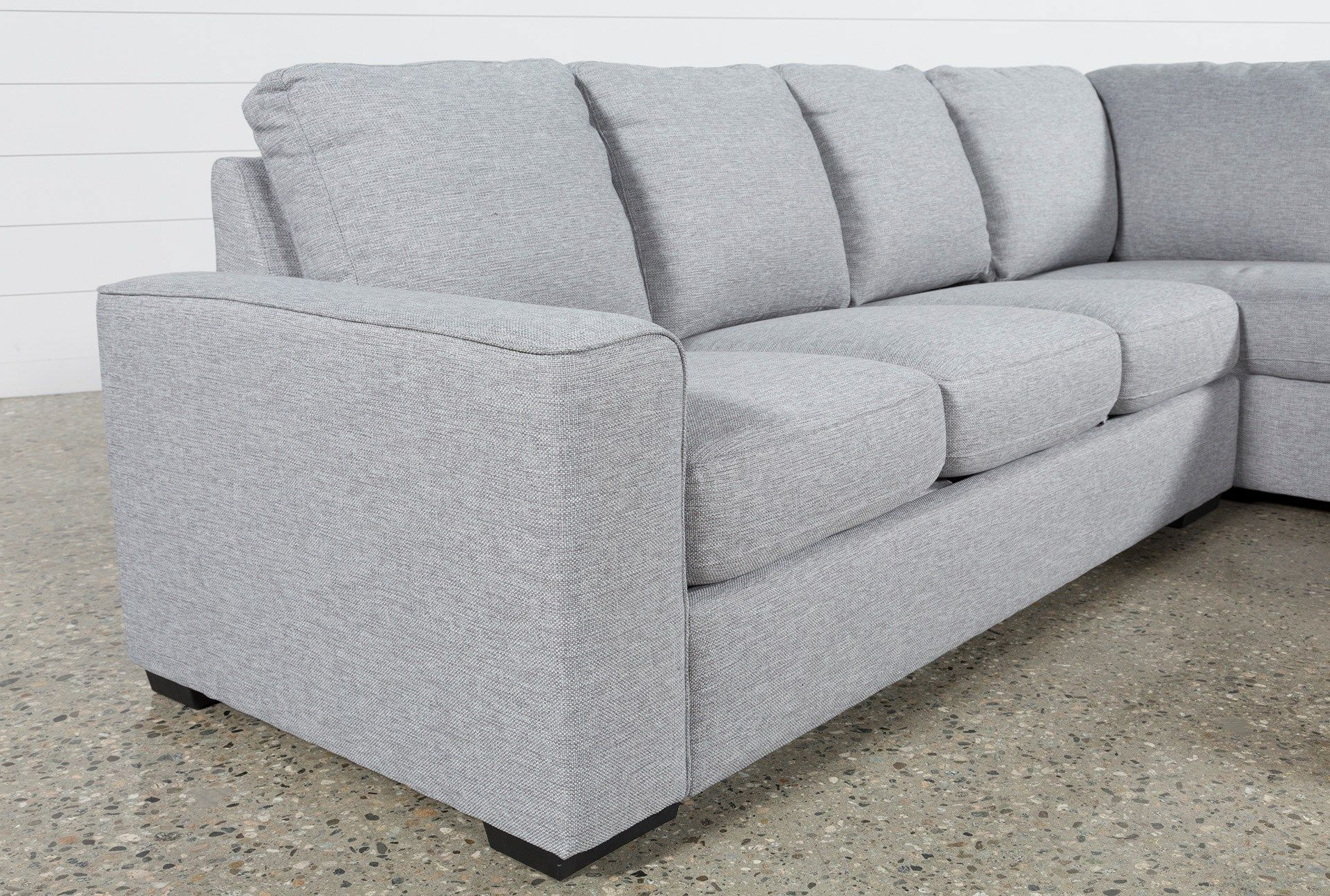 Recent Lucy Grey 2 Piece Sleeper Sectionals With Laf Chaise In Lucy Grey 2 Piece Sectional W/laf Chaise (View 4 of 20)