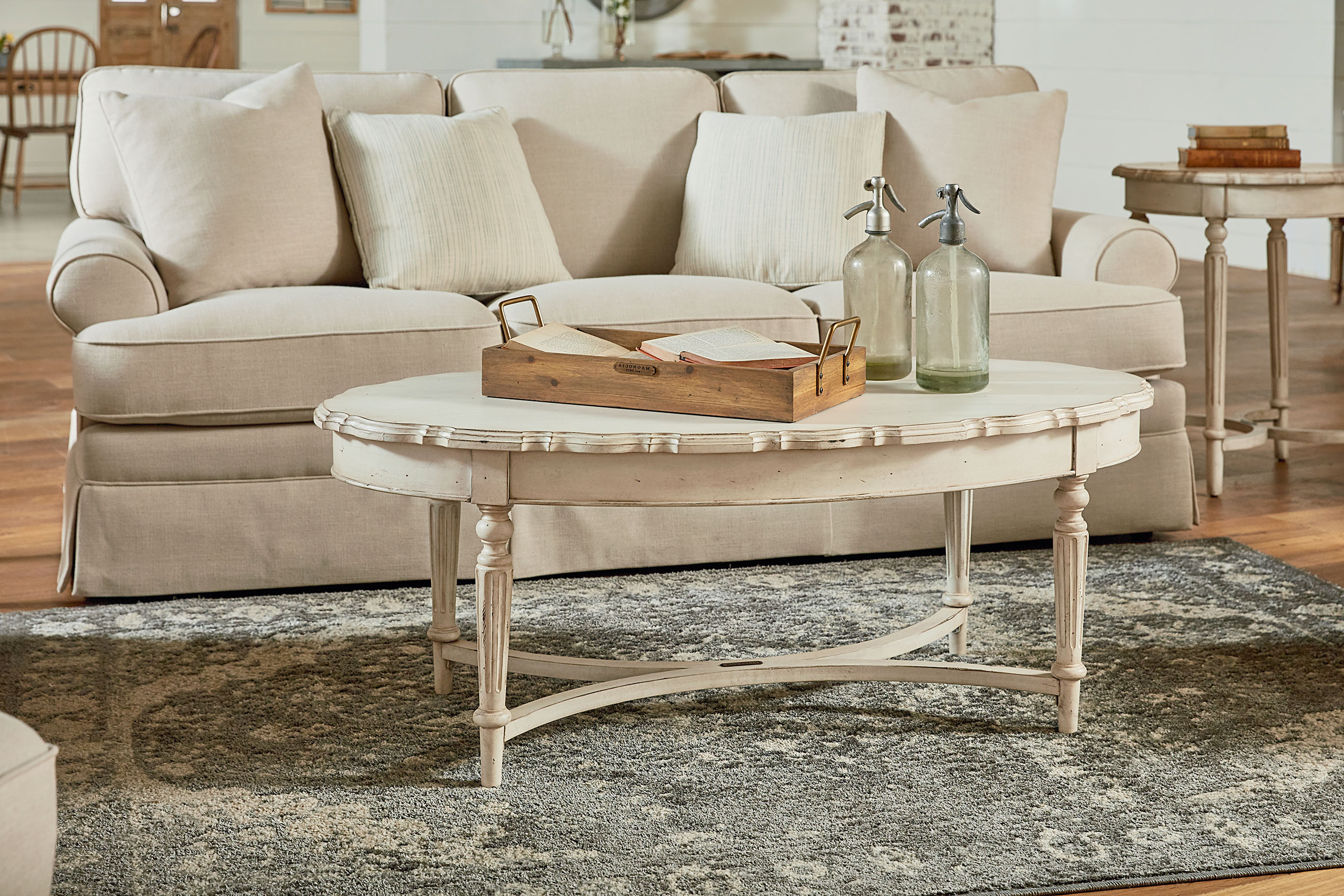 Recent Magnolia Home Ellipse Cocktail Tables By Joanna Gaines In Pie Crust Coffee Table – Magnolia Home (View 11 of 20)