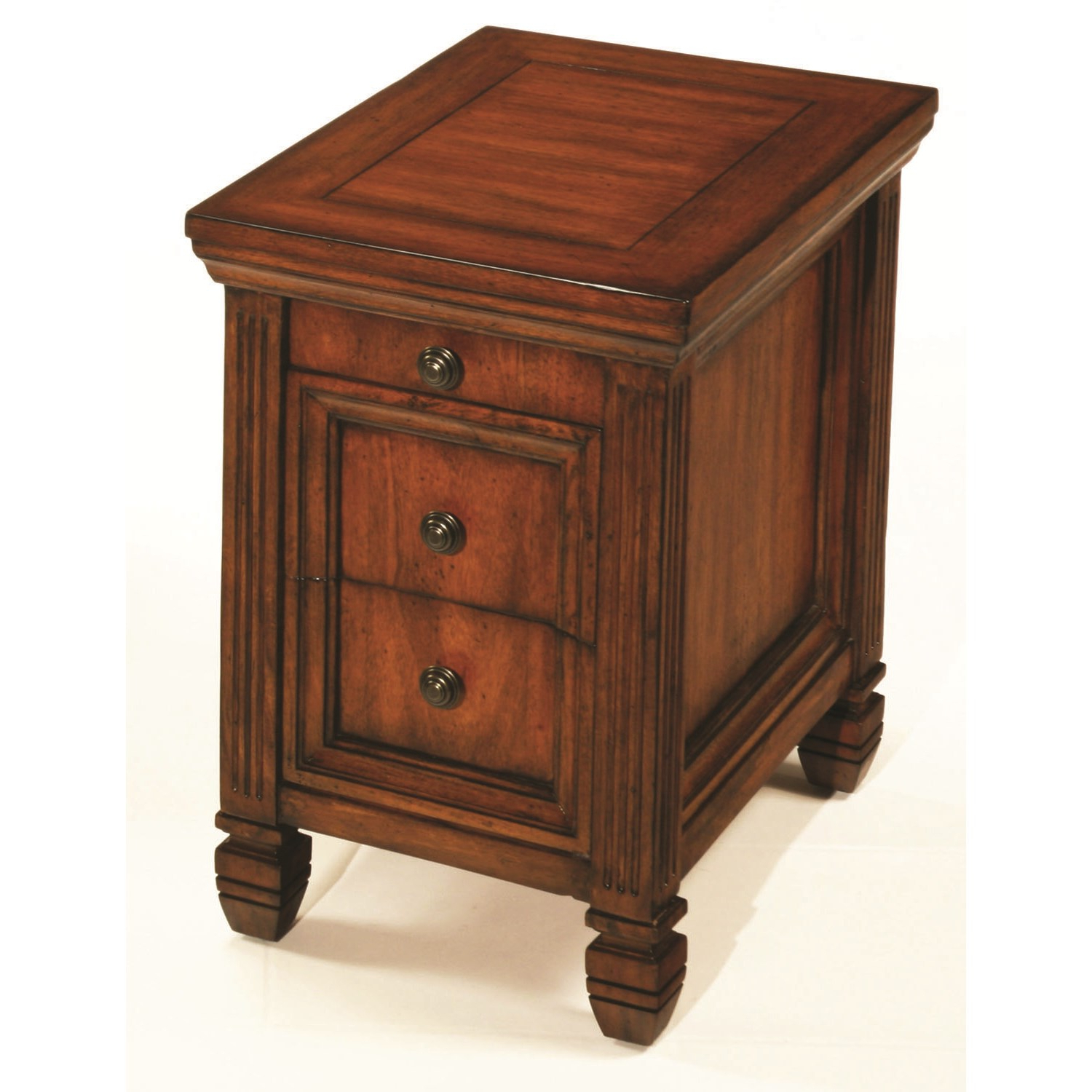 Recent Mikelson Sideboards Pertaining To Hammary Furniture Hidden Treasures Chairside Table The (Gallery 12 of 20)