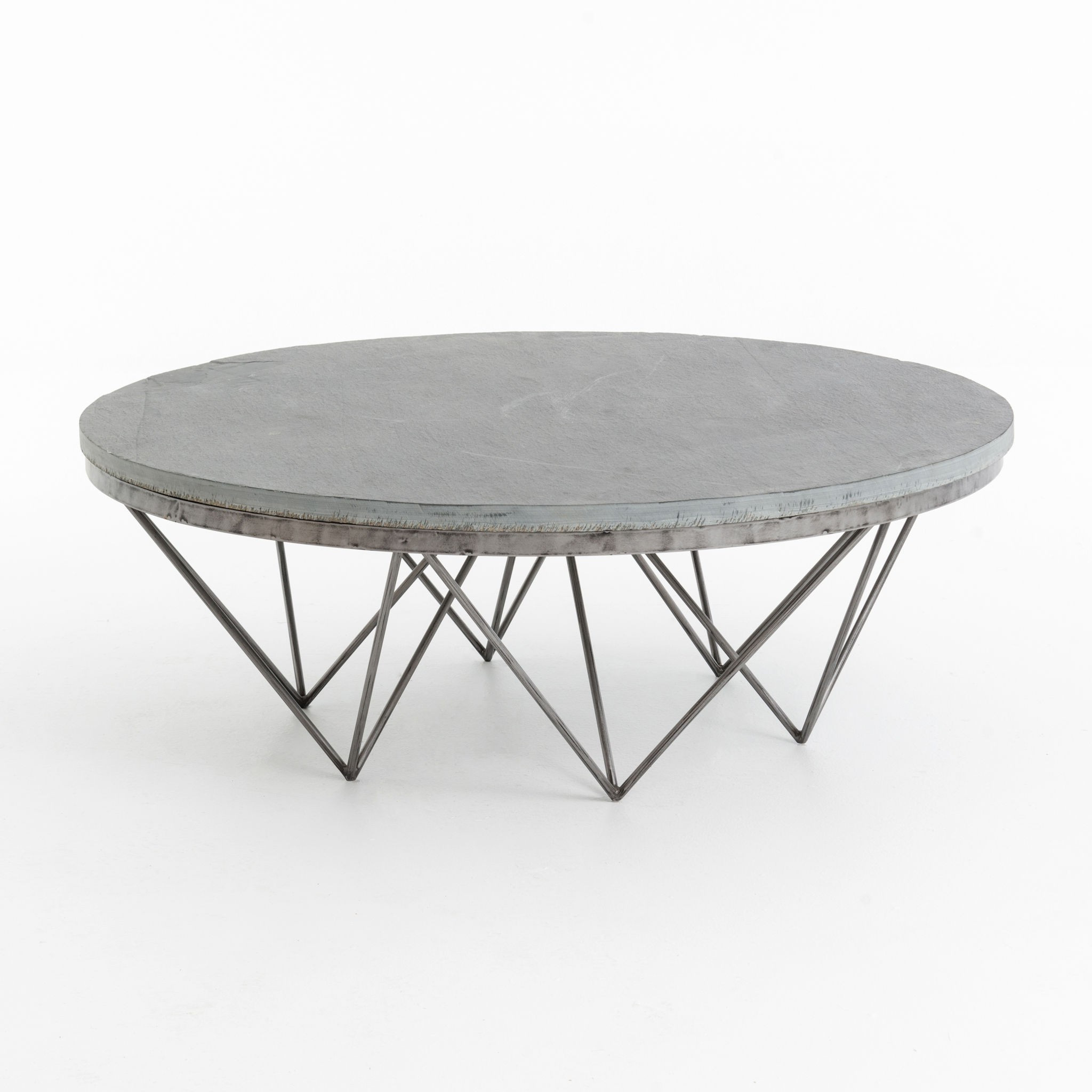 Recent Modern Marble Iron Coffee Tables In Modern Round Wood Coffee Table Inspirational Nice Round Contemporary (View 13 of 20)