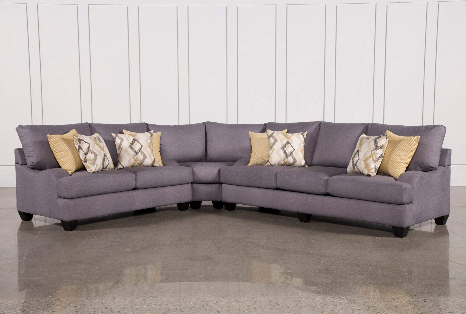 Recent Sierra Foam 3 Piece Sectional Regarding Mesa Foam 2 Piece Sectionals (View 16 of 20)