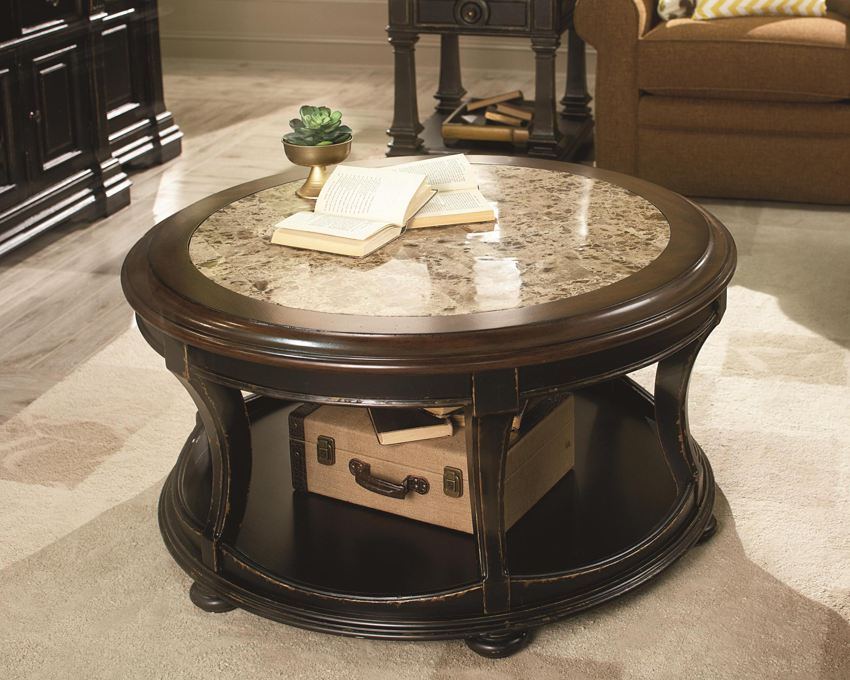 Recent Smart Large Round Marble Top Coffee Tables Intended For Coffee Table Furniture Round Marble Top Awesome Sofia Tables Wood (View 13 of 20)