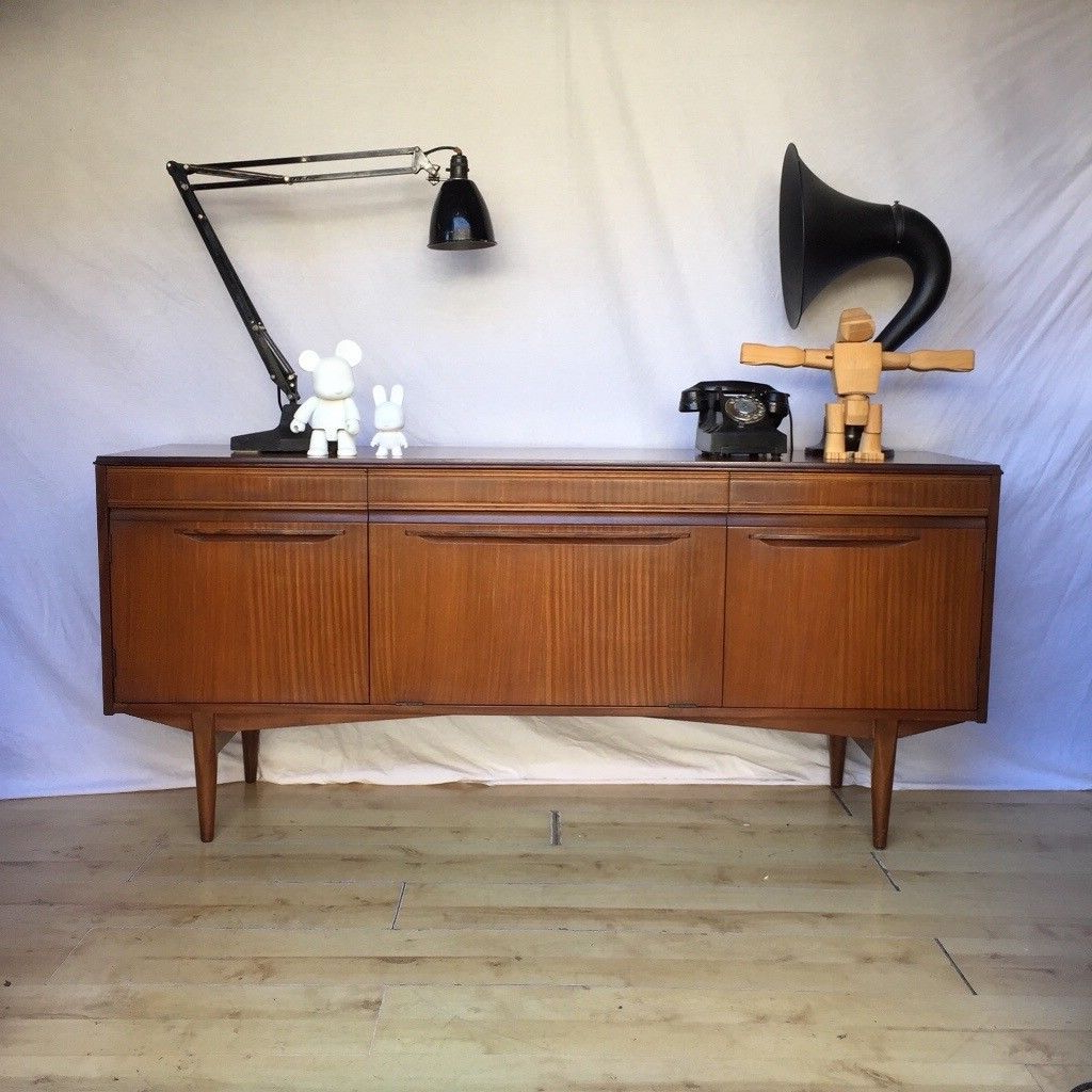 Recent Vintage 1960S Teak Mid Century Rhf Sideboard Cupboard (View 13 of 20)