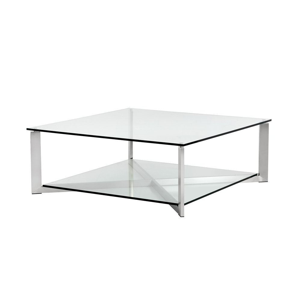Recent Weaver Dark Rectangle Cocktail Tables Inside Shop Xavier Coffee Table Square – On Sale – Free Shipping Today (View 12 of 20)