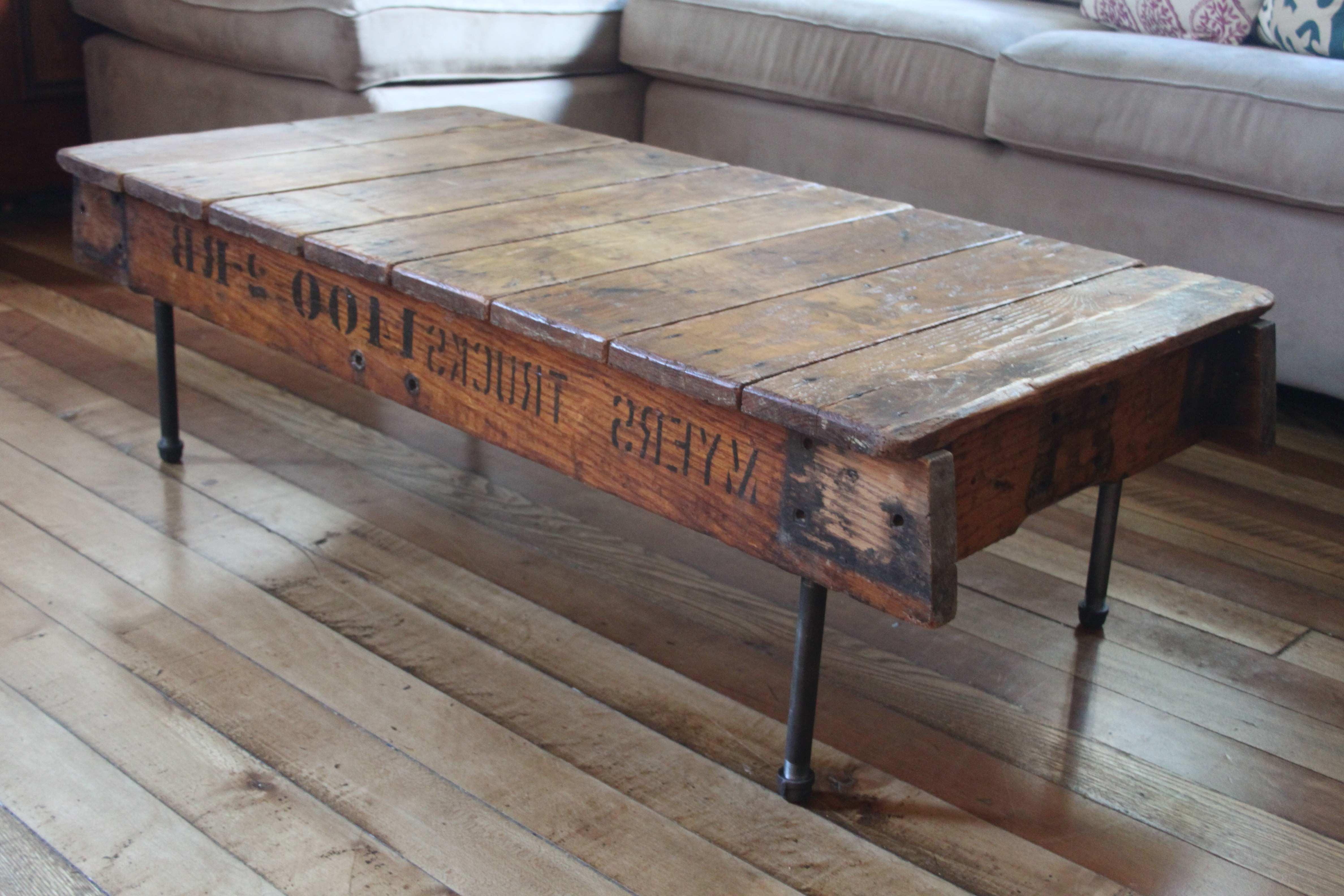 Reclaimed Dining Room Table Modern Rustic Coffee Table Best Of Inside Most Recent Modern Rustic Coffee Tables (Gallery 14 of 20)
