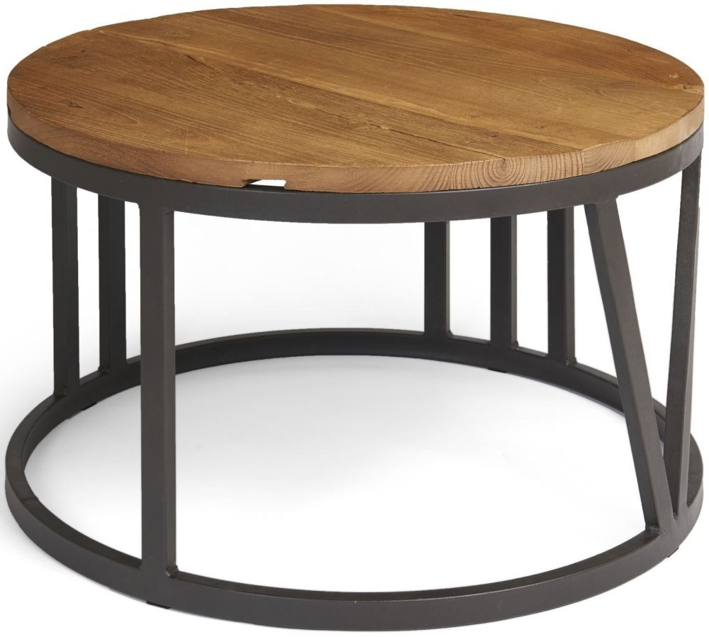 Featured Photo of Reclaimed Elm Iron Coffee Tables