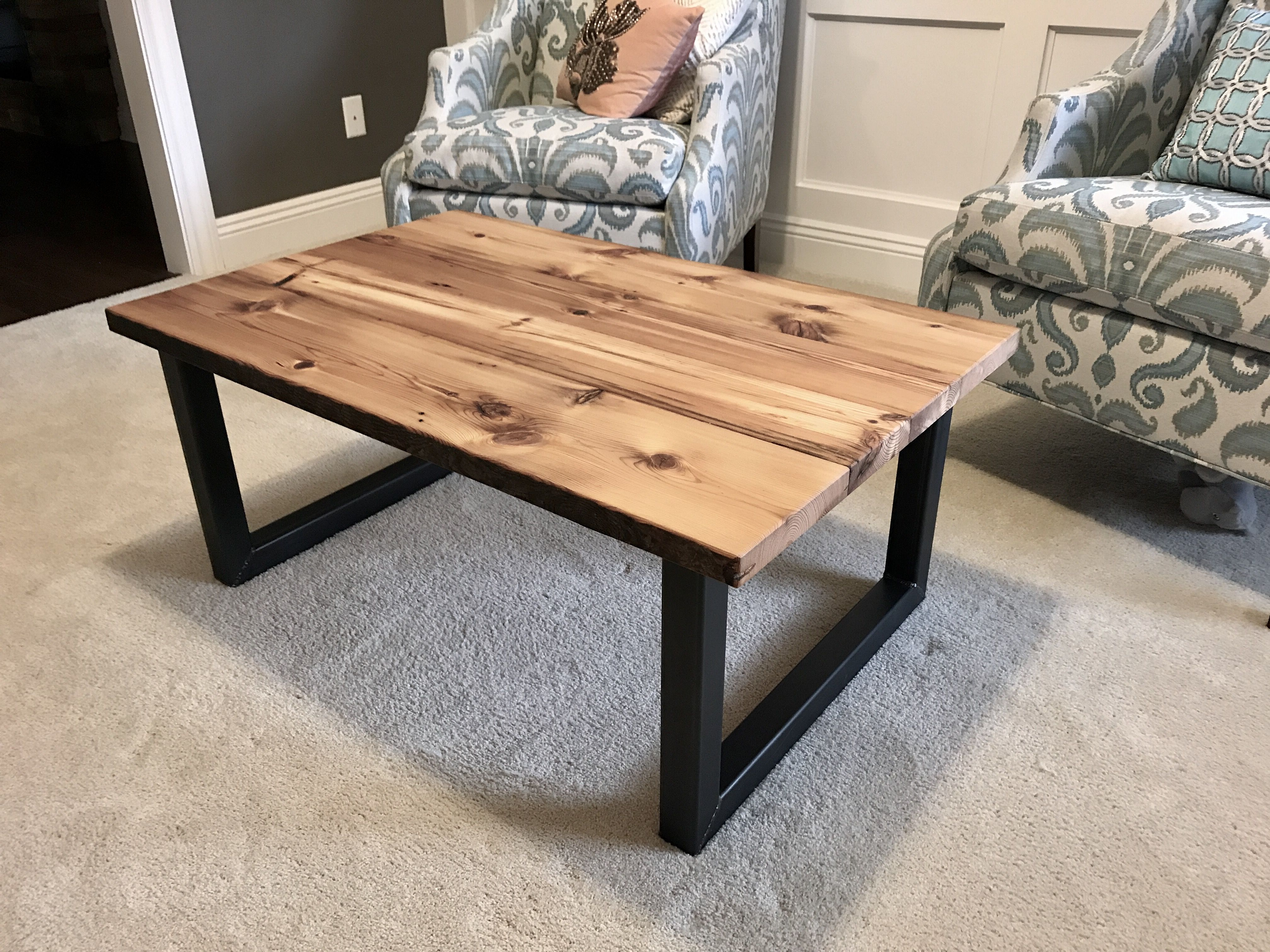 Reclaimed Pine Coffee Tables Intended For Widely Used Buy A Hand Made 200 Year Old Reclaimed Pine Coffee Table, Made To (Gallery 15 of 20)
