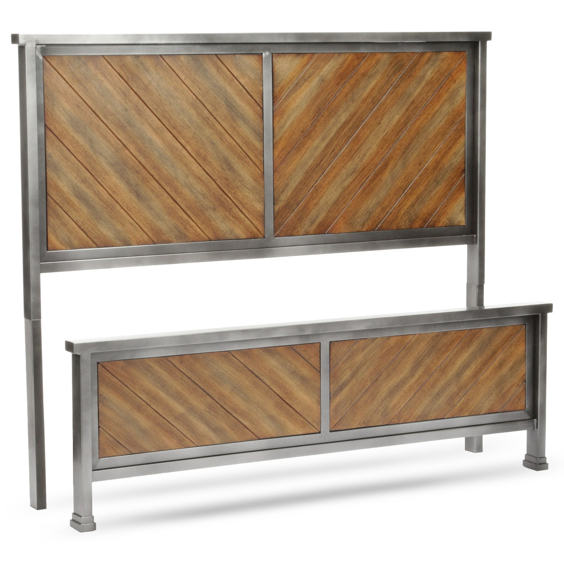 Reclaimed Sideboards With Metal Panel Within Most Recently Released Fashion Bed Group Braden Braden Full Headboard And Footboard With (View 15 of 20)