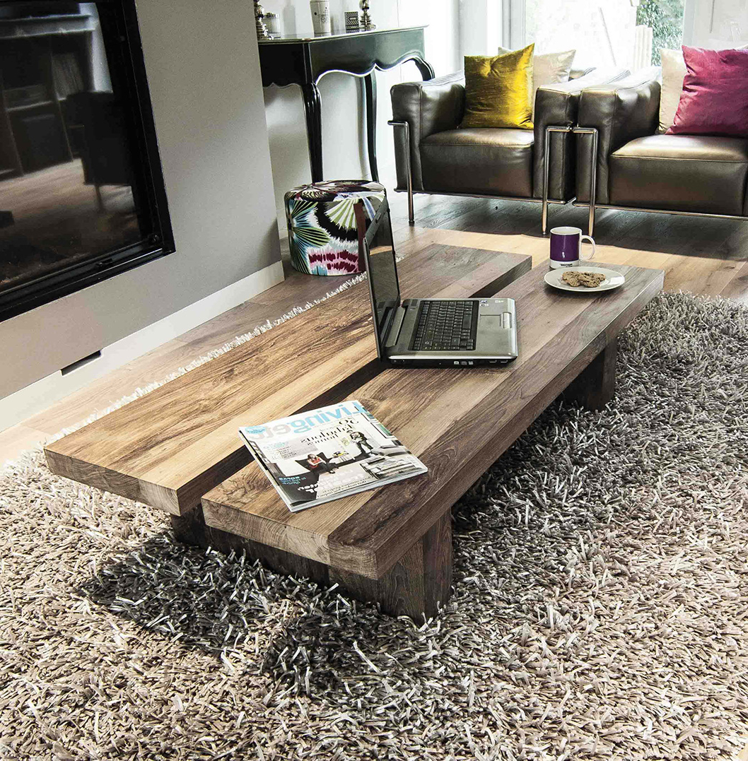 Reclaimed Wood Coffee Table. The Rinjani (View 8 of 20)
